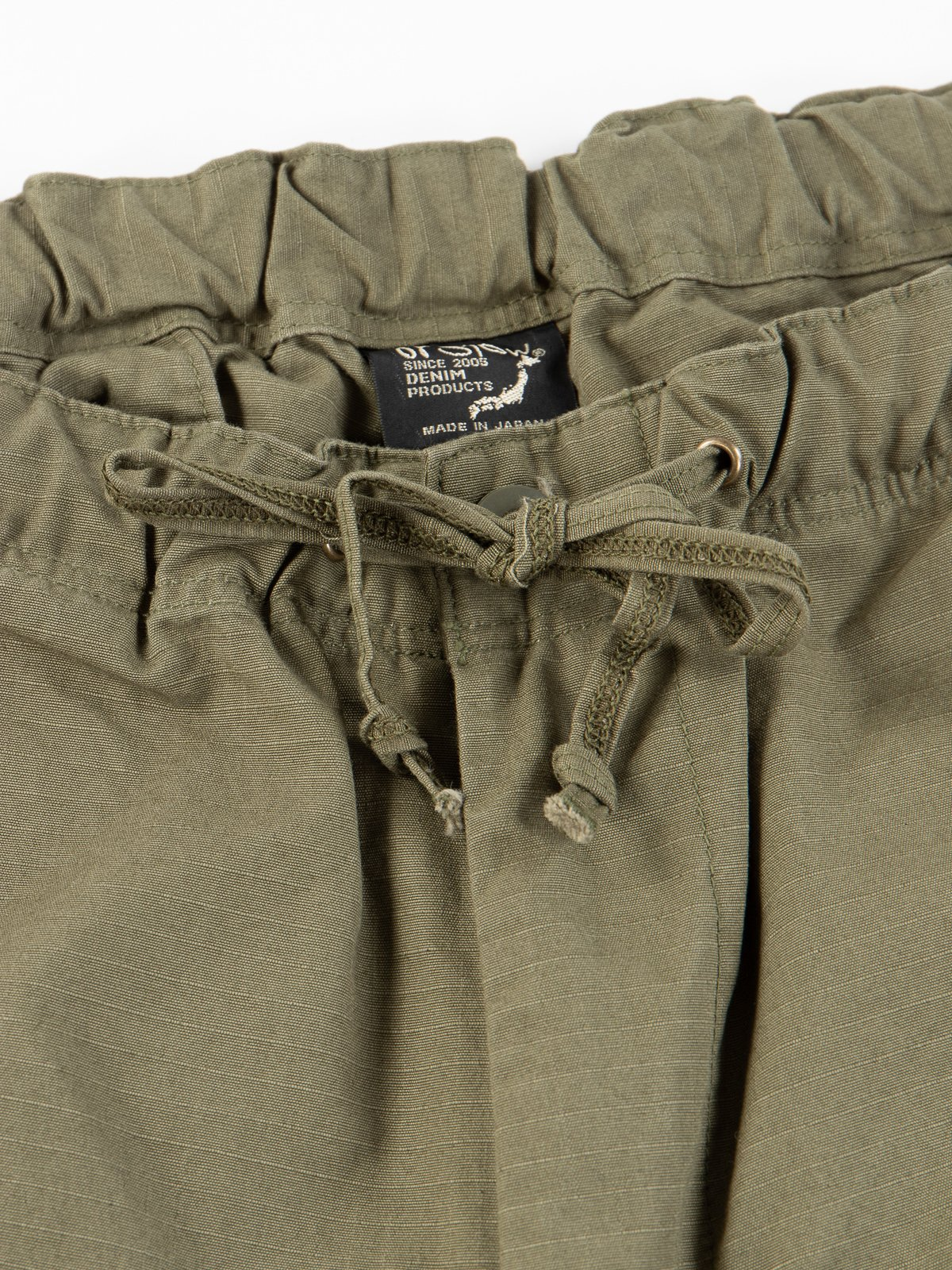 Army Green Ripstop New Yorker Short - Image 4
