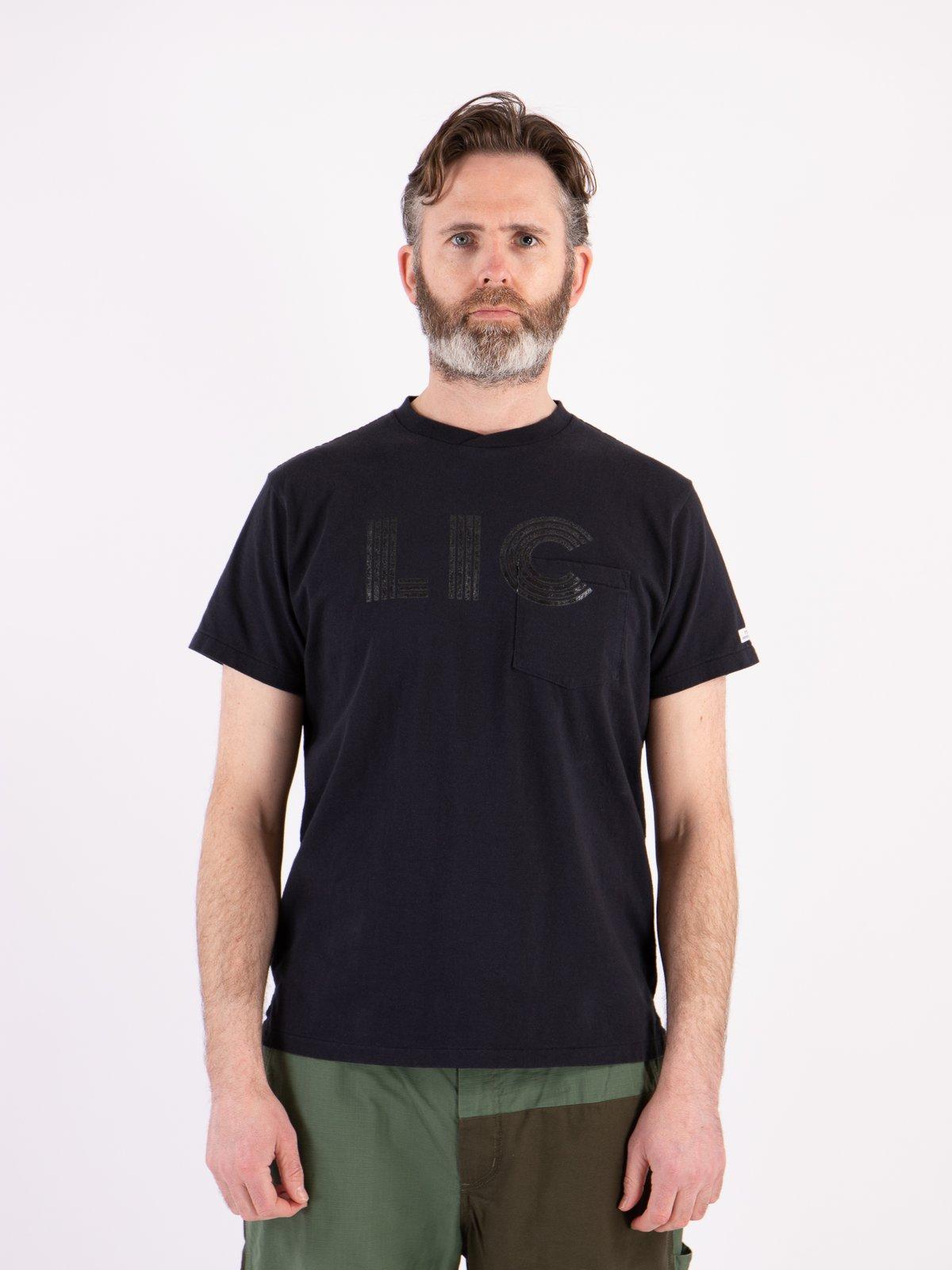 Navy LIC Printed T–Shirt - Image 2