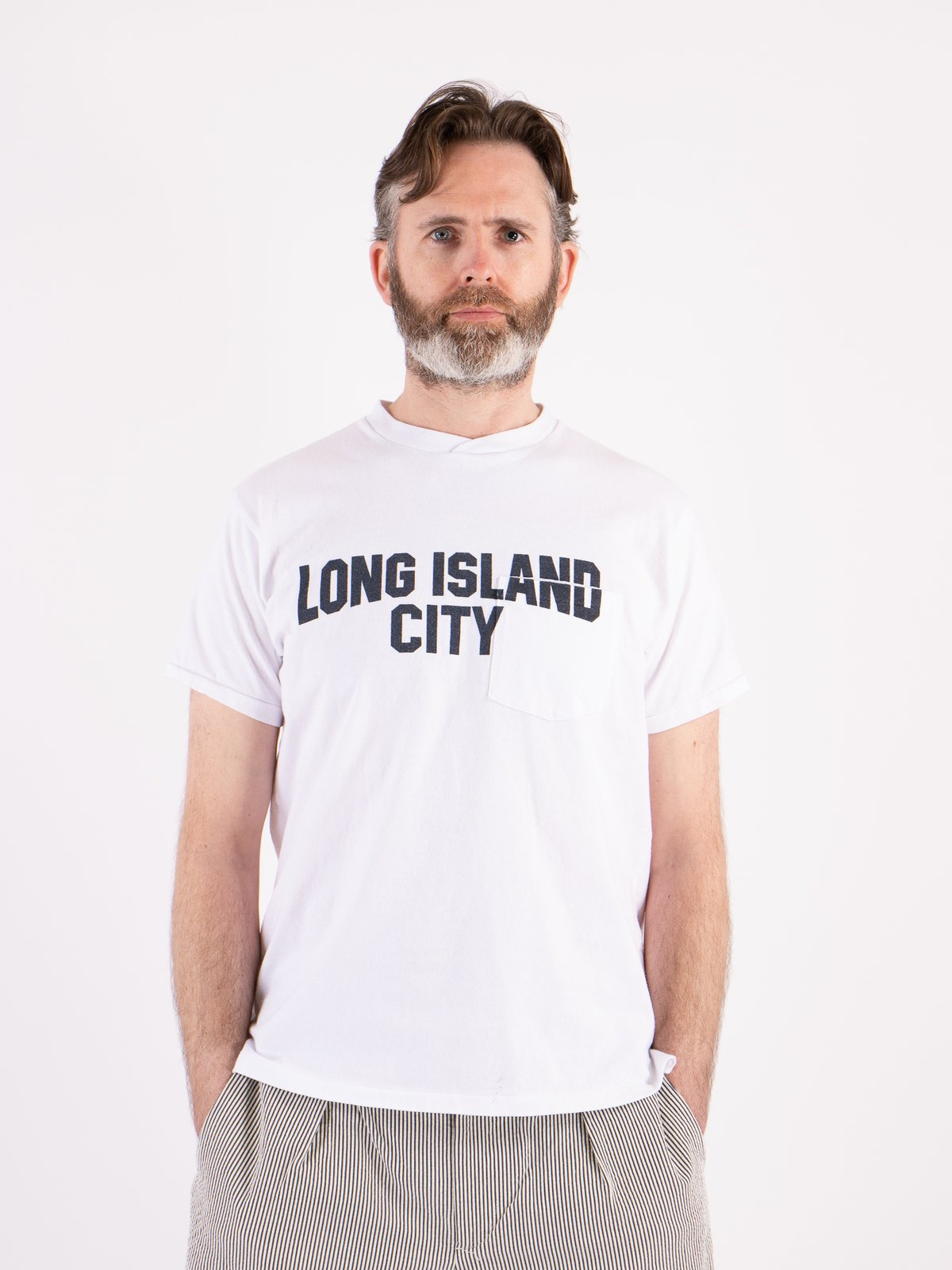 White Long Island City Printed T–Shirt - Image 2