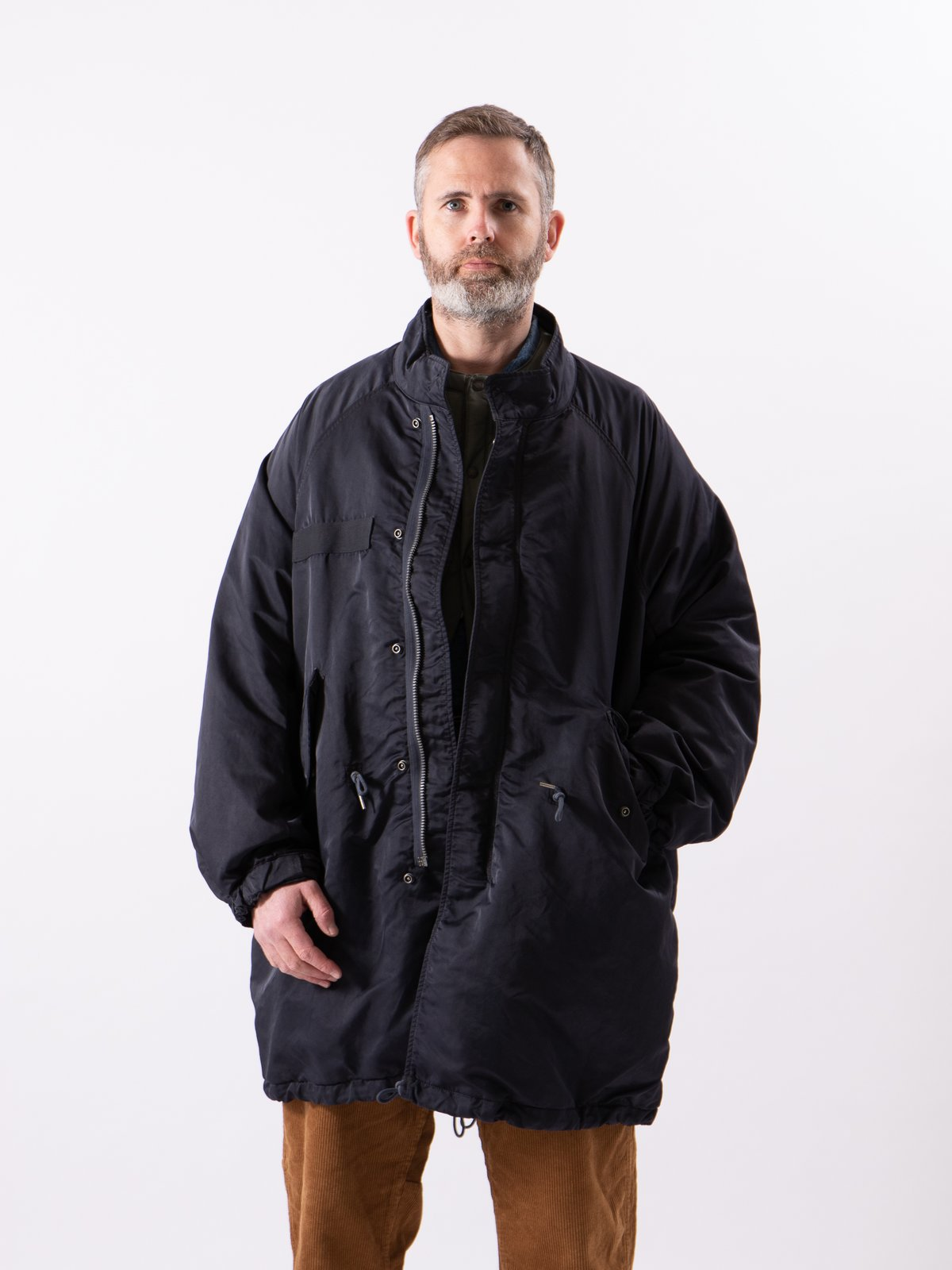 Navy Six–Five Fishtail Parka - Image 3