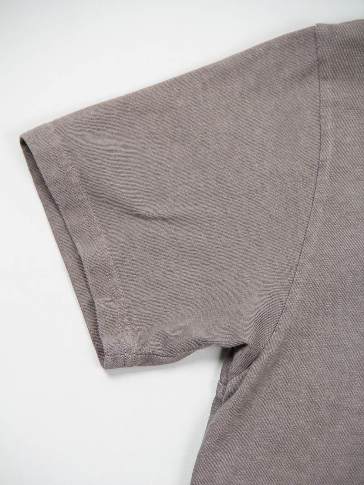 Charcoal Grey Kapital Jersey Crew Pocket T–Shirt - Image 4