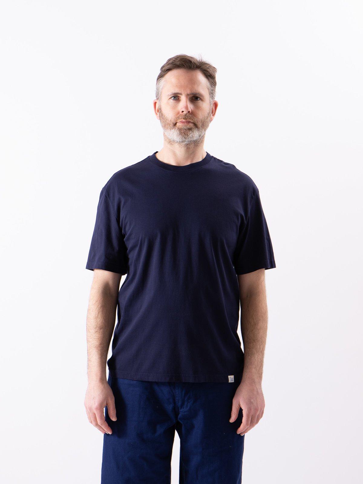 Deep Blue Good Basics CTOS01 Oversized Crew Neck Tee - Image 2