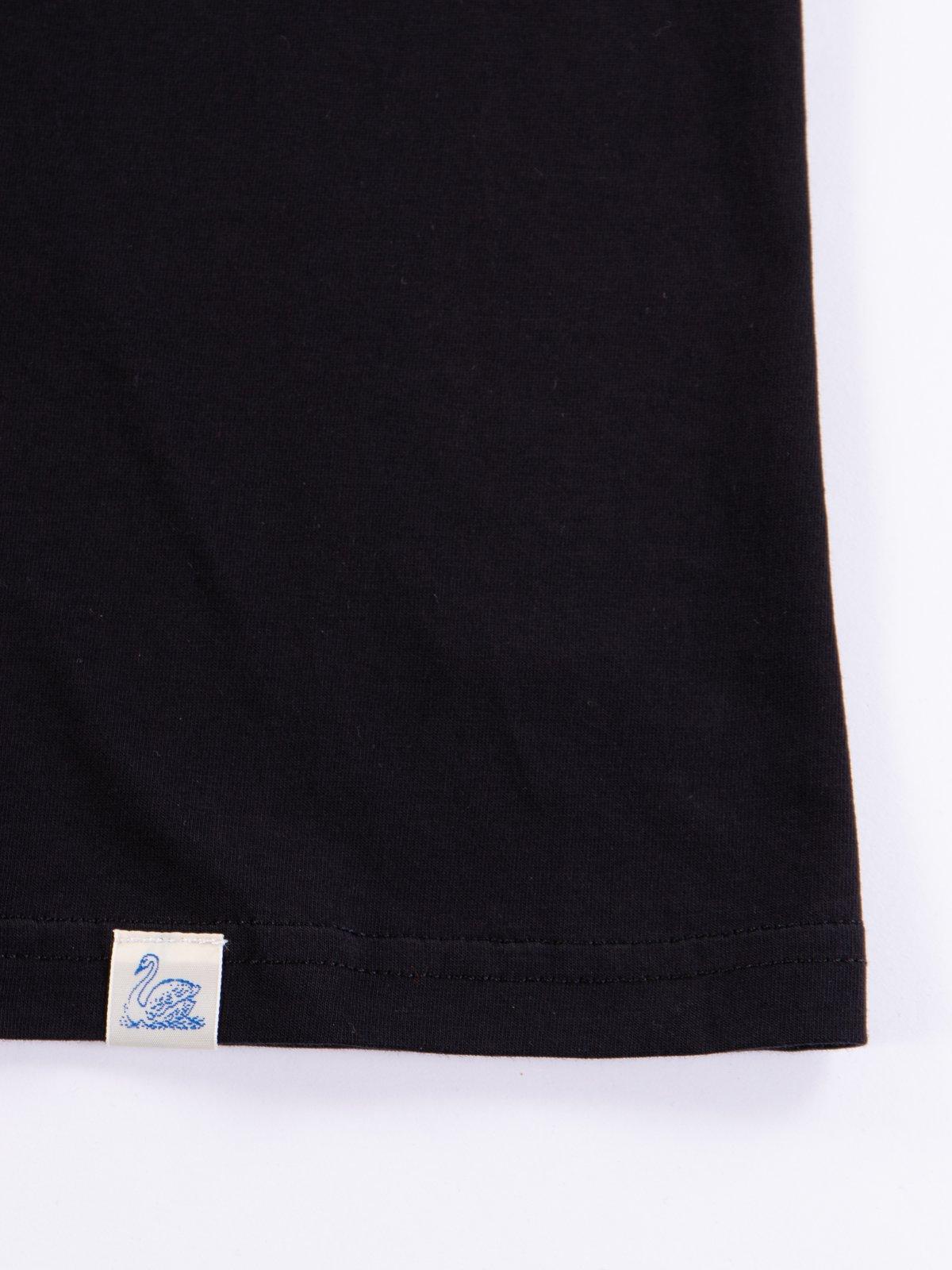 Deep Black Good Basics CTP01 Pocket Crew Neck Tee - Image 5