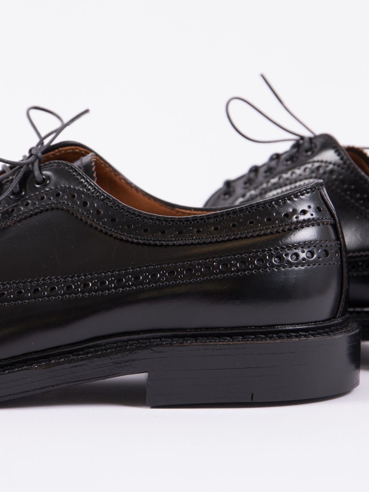 Black Cordovan Long Wing Blucher - Image 3