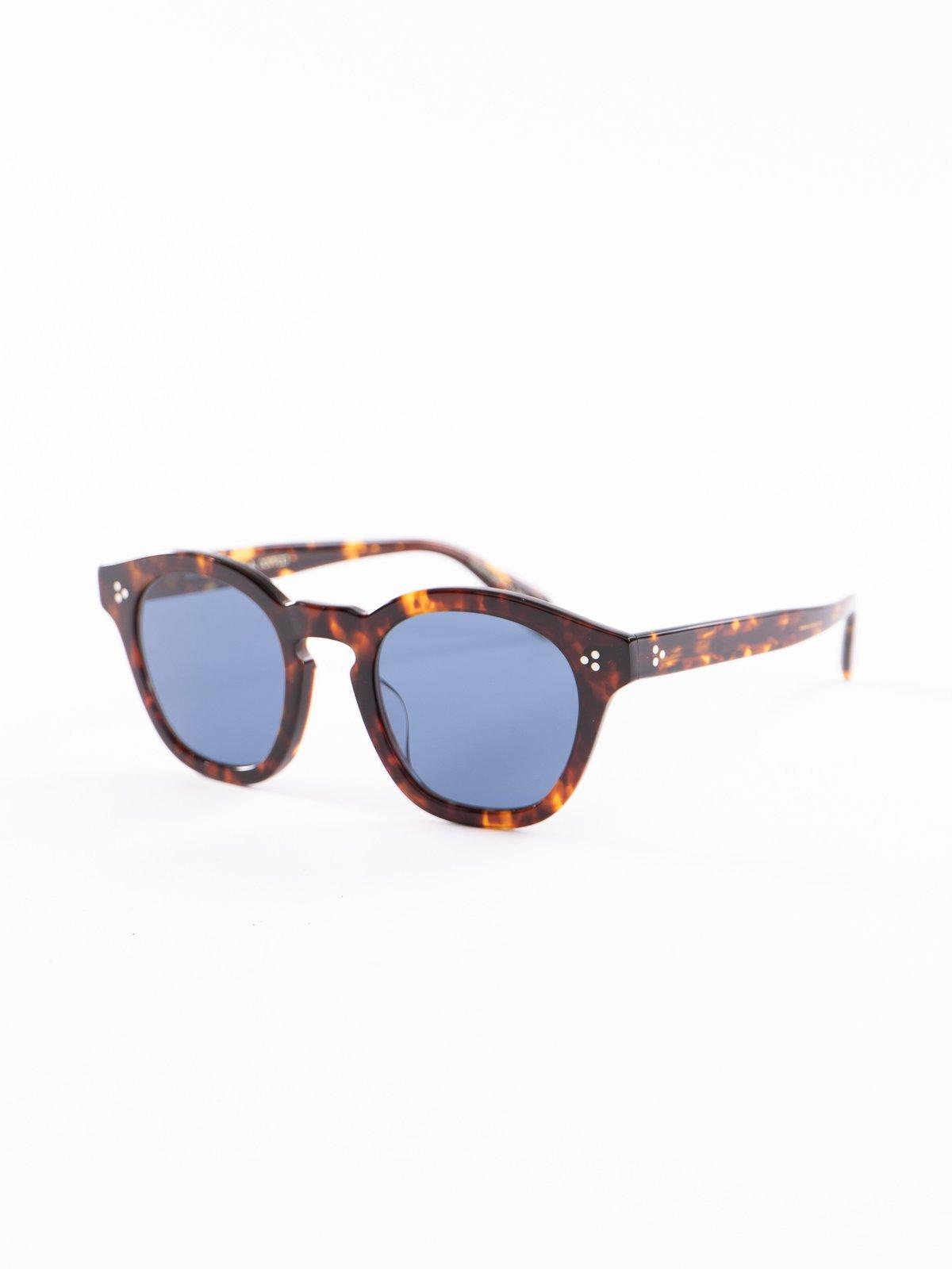DM2/Dark Blue Boudreau LA Sunglasses - Image 2