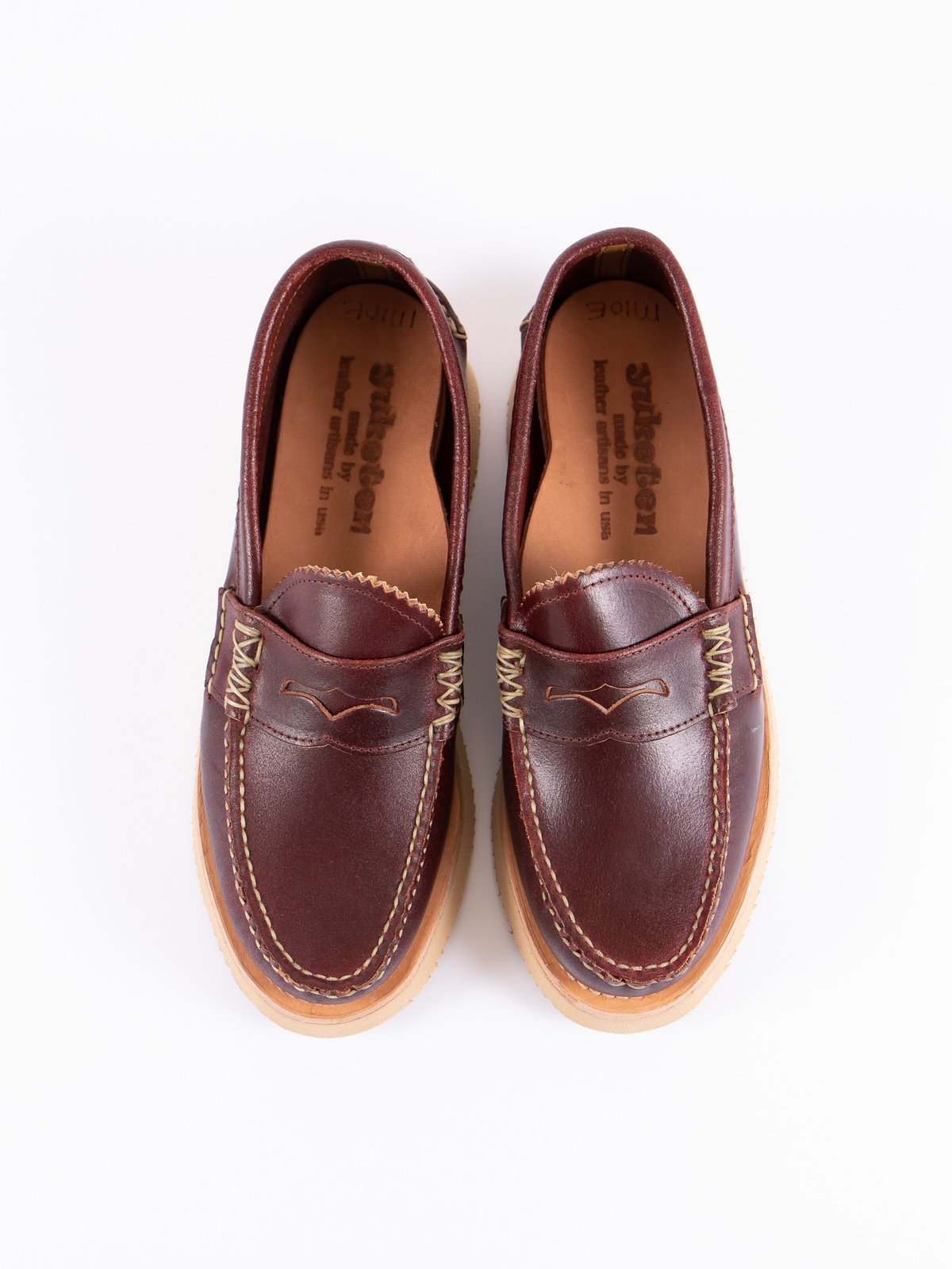 FO Wax Red Loafer Shoe Exclusive - Image 6