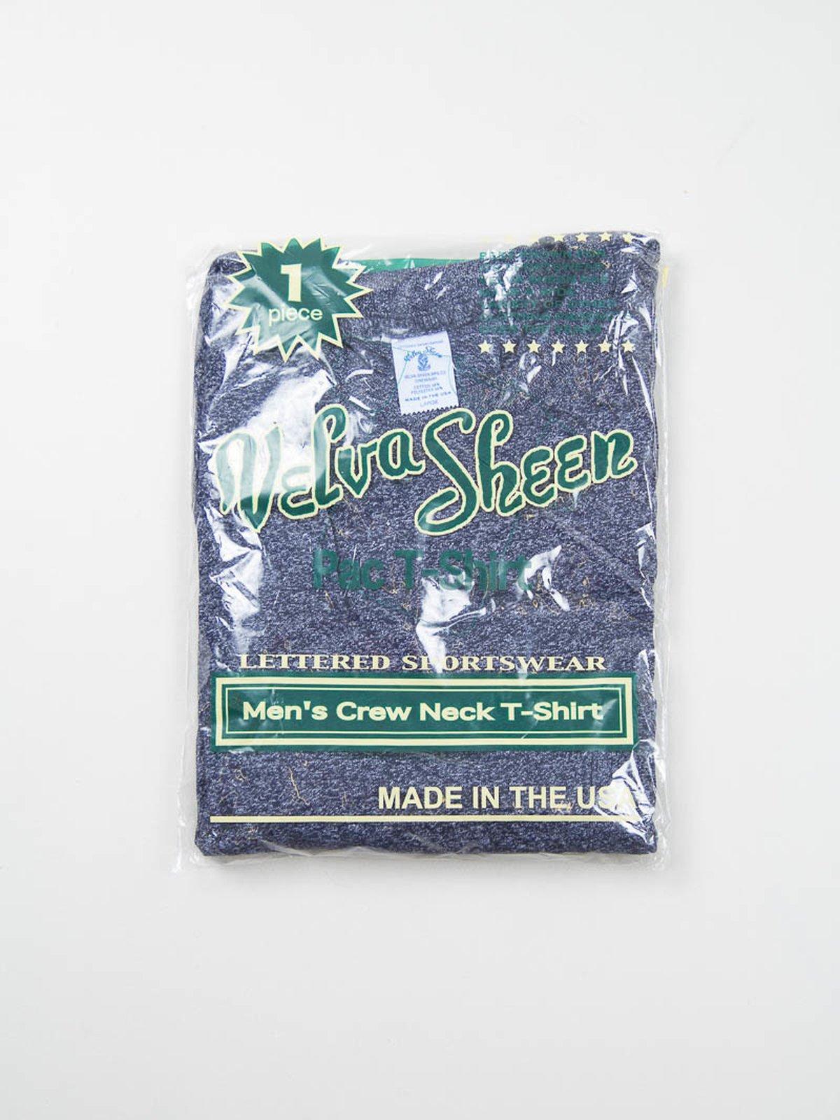 Heather Navy 1–Pac Pocket Tee - Image 1