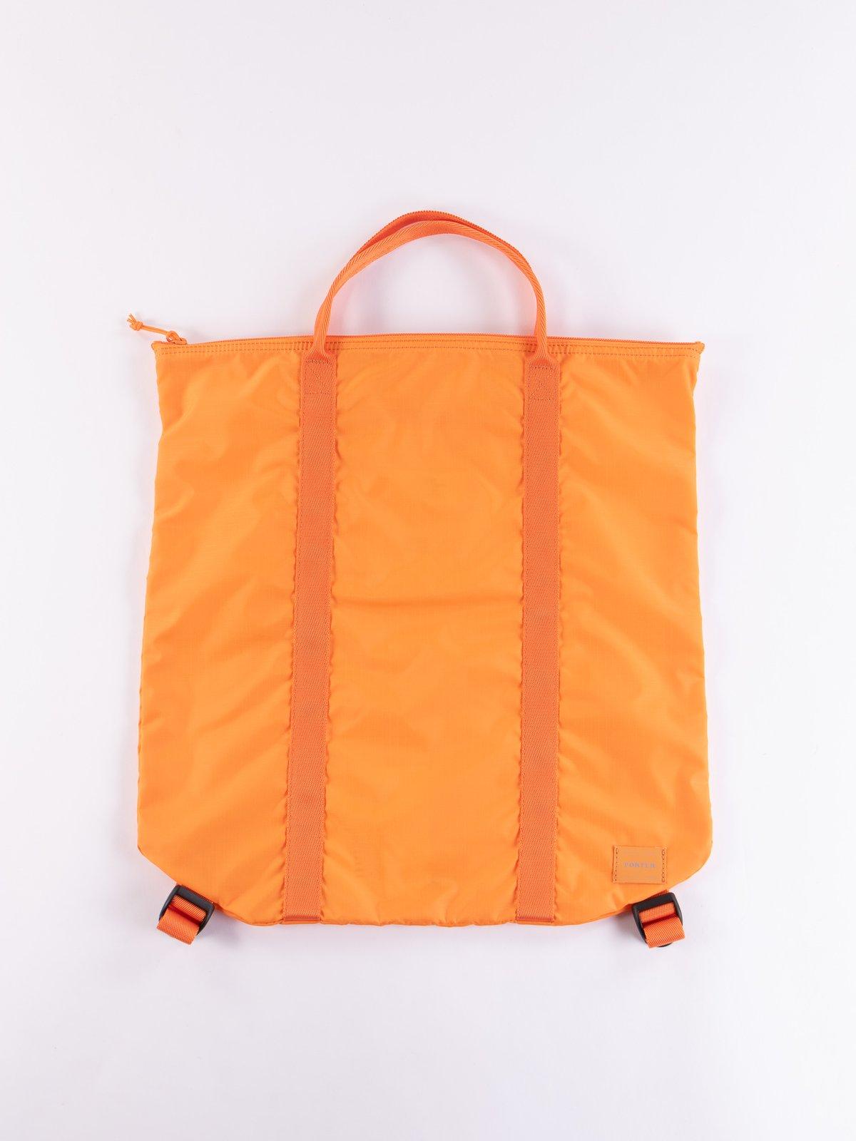 Orange Flex 2Way Tote Bag - Image 1