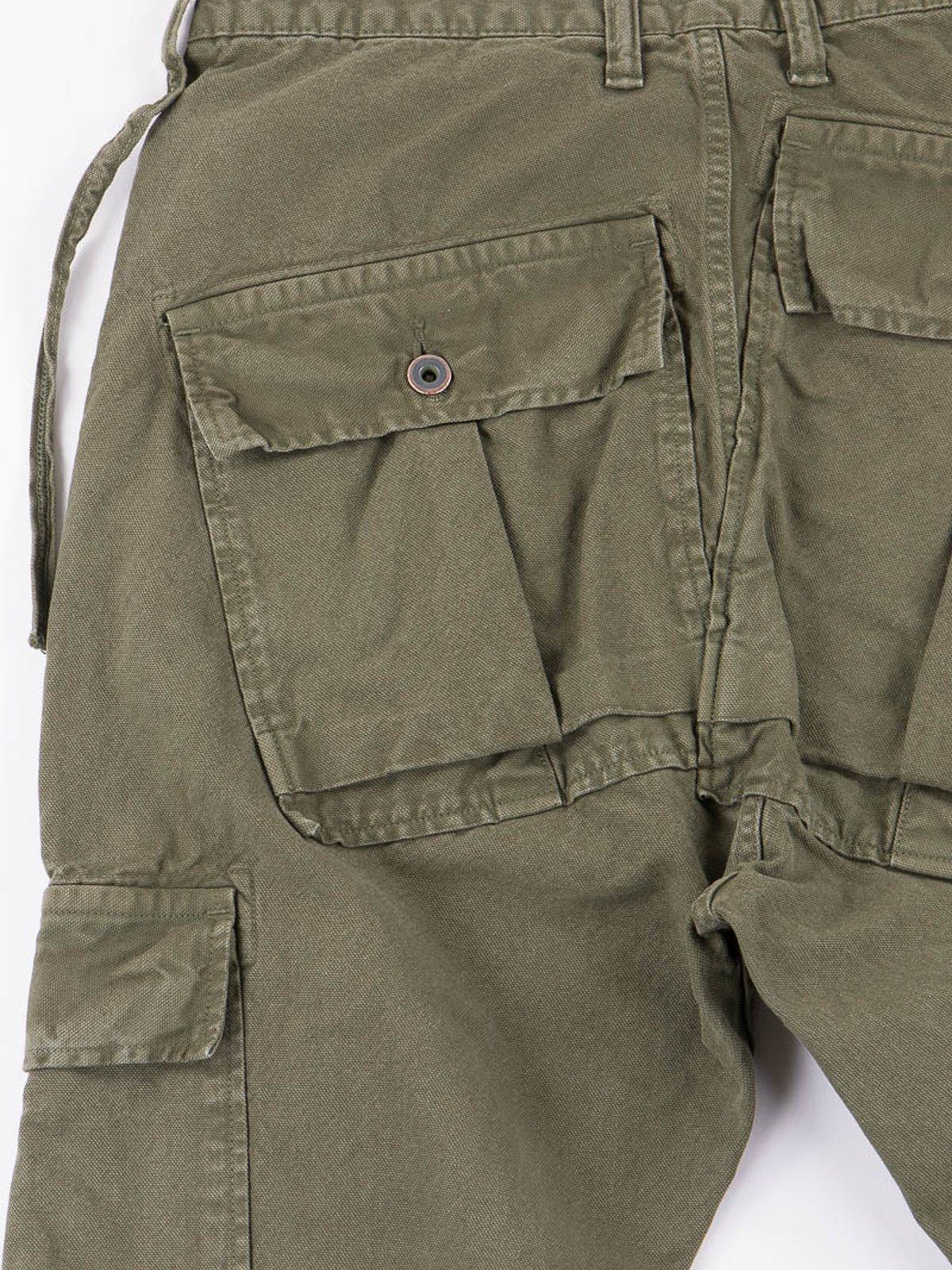Olive Light Canvas Ringo Man Cargo Pant - Image 6