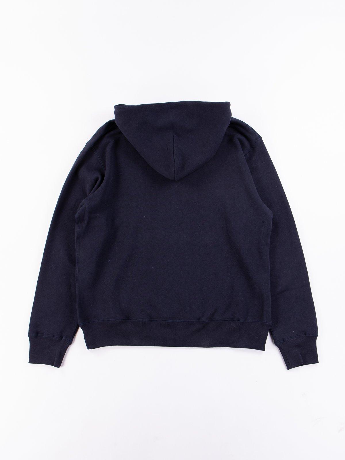 Navy Pullover Hoodie - Image 4
