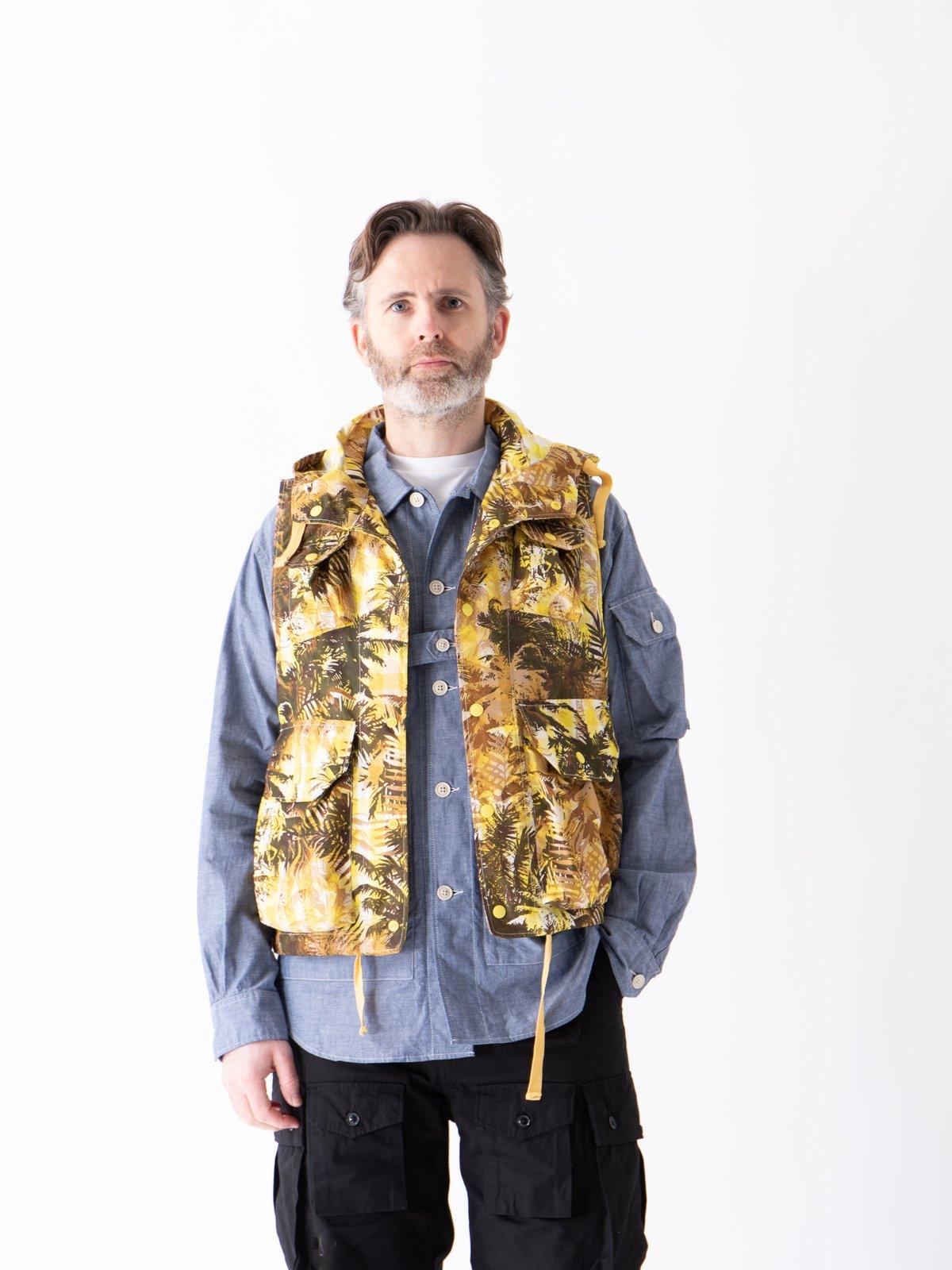 Blue Cotton Chambray Explorer Shirt Jacket - Image 3