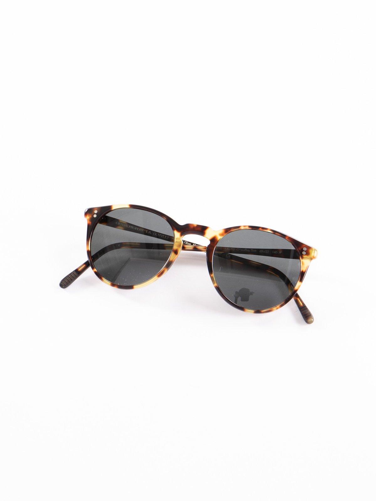 Vintage DTB/Dark Grey Polar O'Malley Sunglasses - Image 1