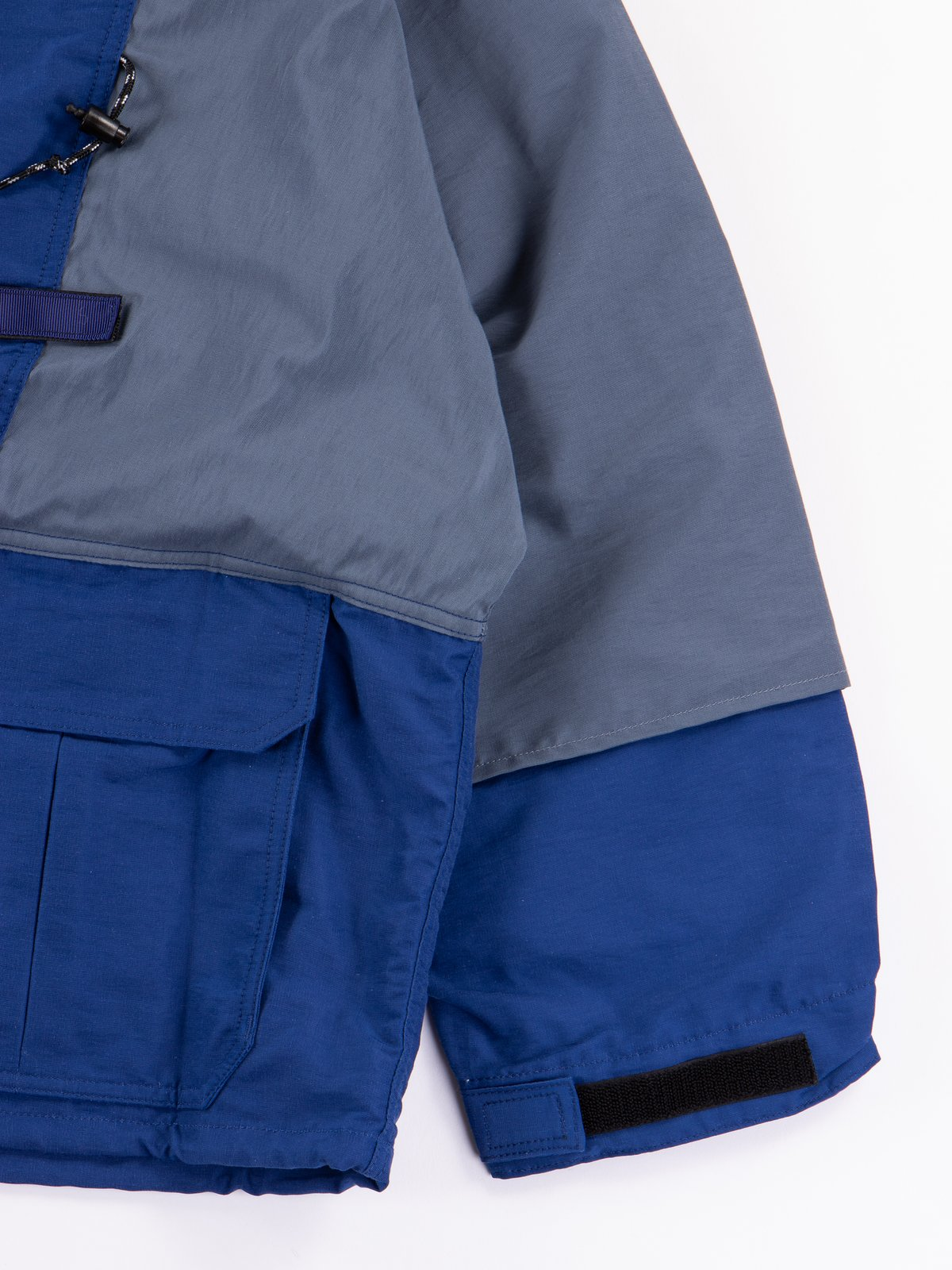 Navy 60/40 Cloth Kamakura Anorak Blouson - Image 6