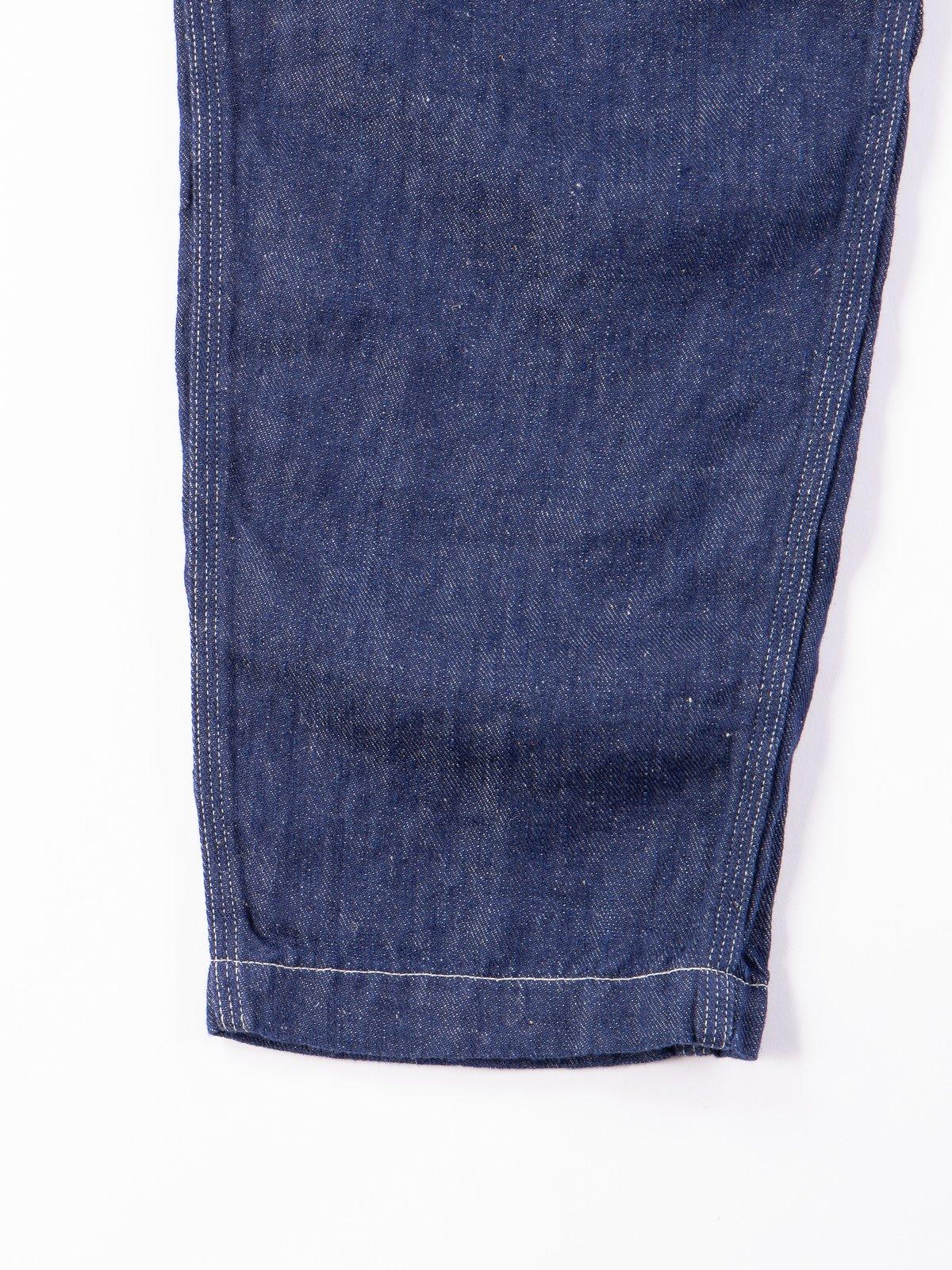 One Wash Linen Denim Climbing Pant - Image 5