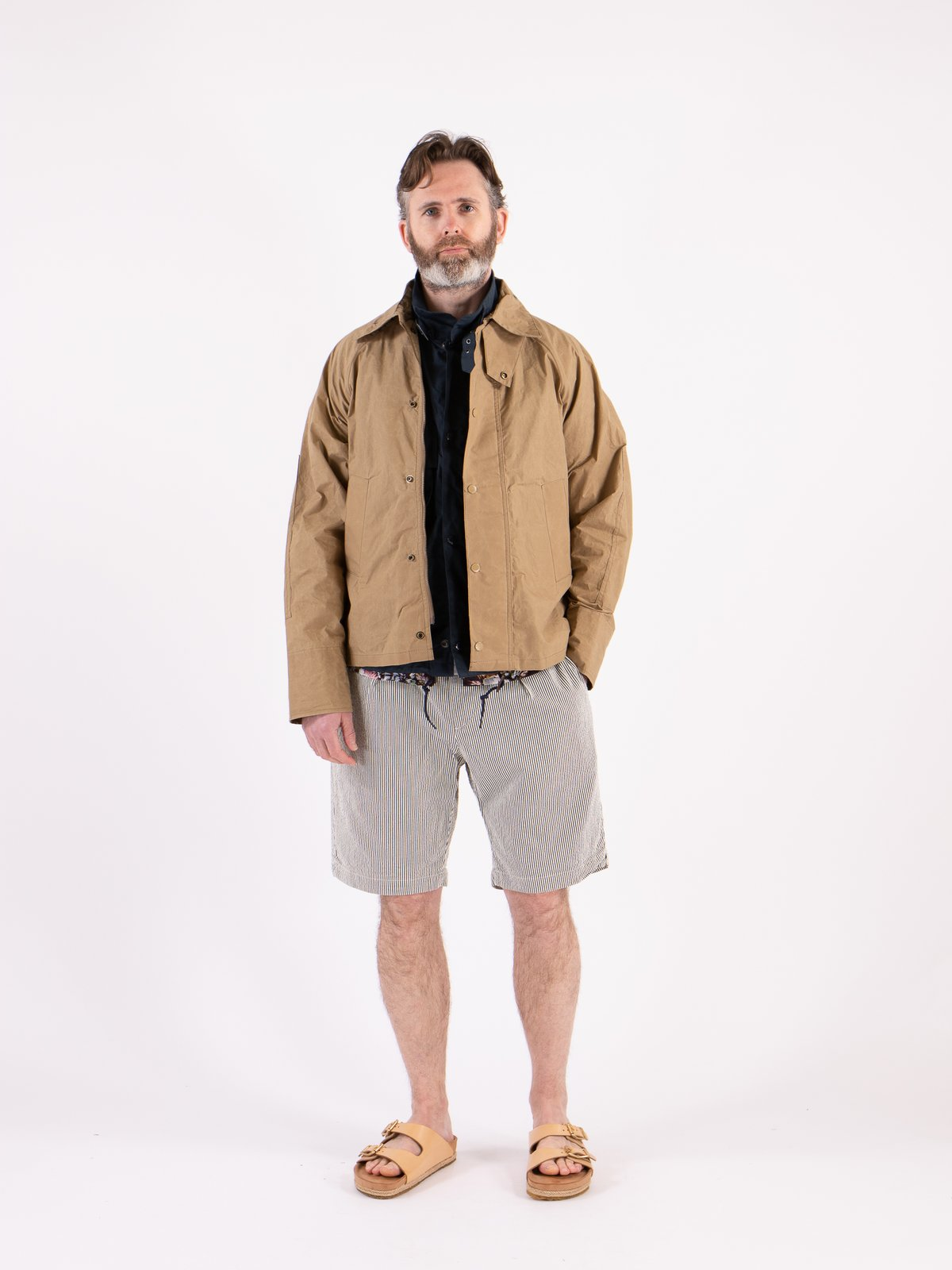 Sand Unlined Graham Jacket - Image 2