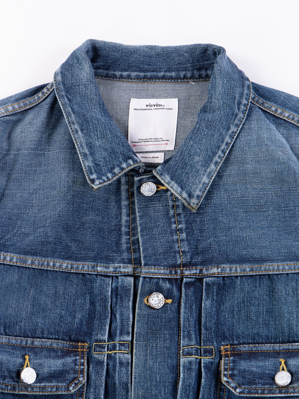 Dry Damaged SS 101 Denim Jacket - Image 3