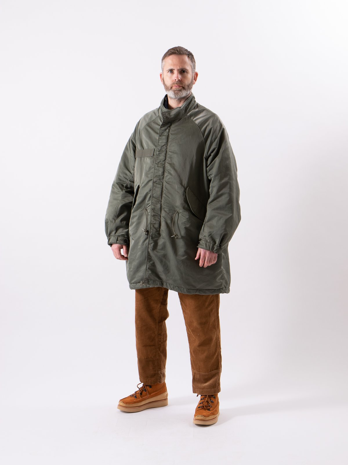 Olive Six–Five Fishtail Parka - Image 2