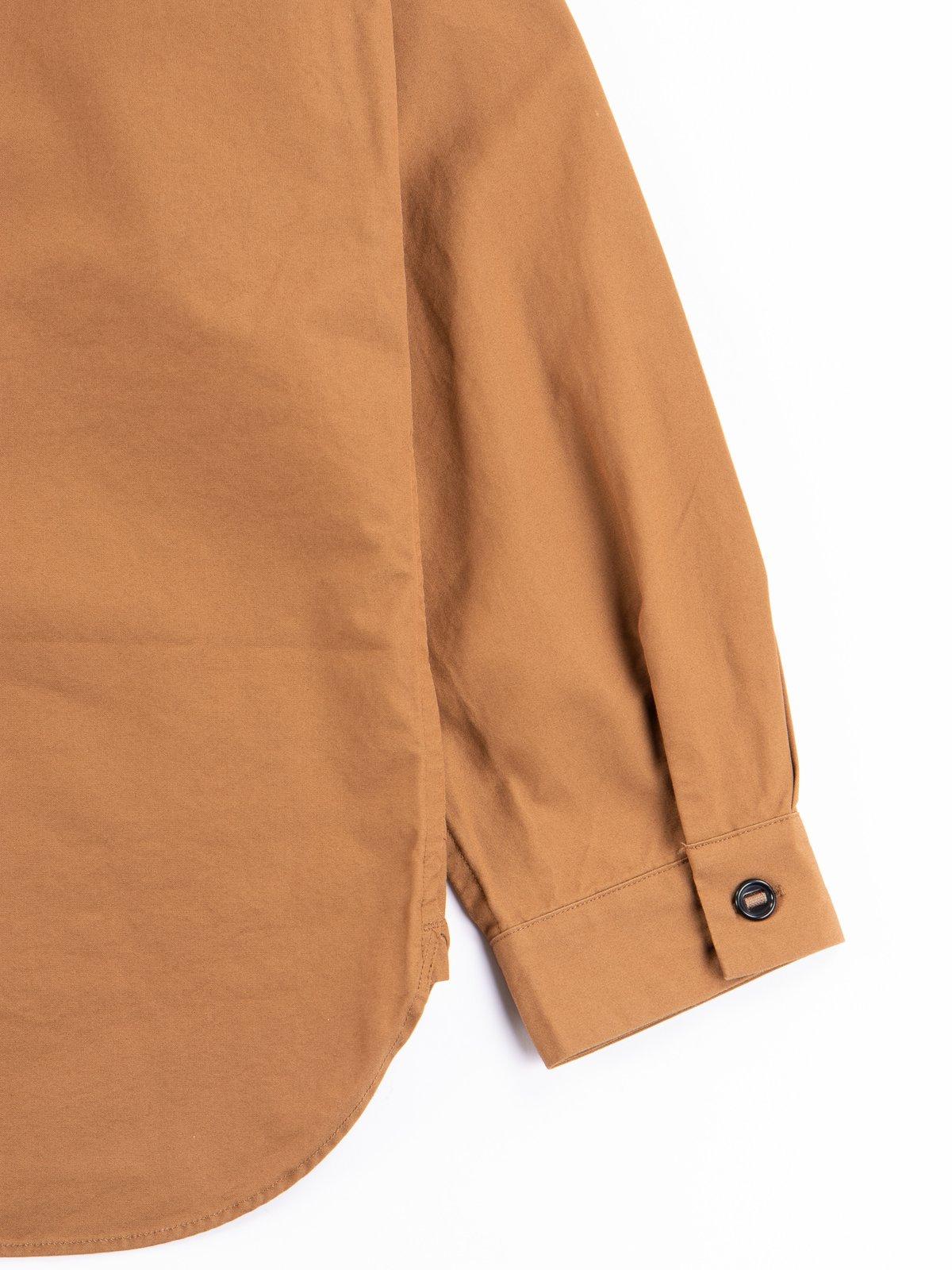 Tan Gardener Oxford Shirt Jacket - Image 6