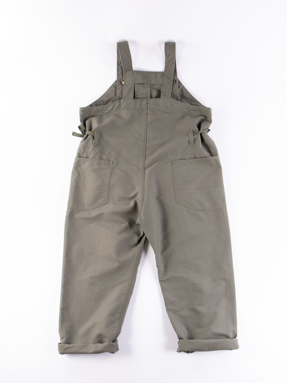 Olive Cotton Double Cloth Waders - Image 6