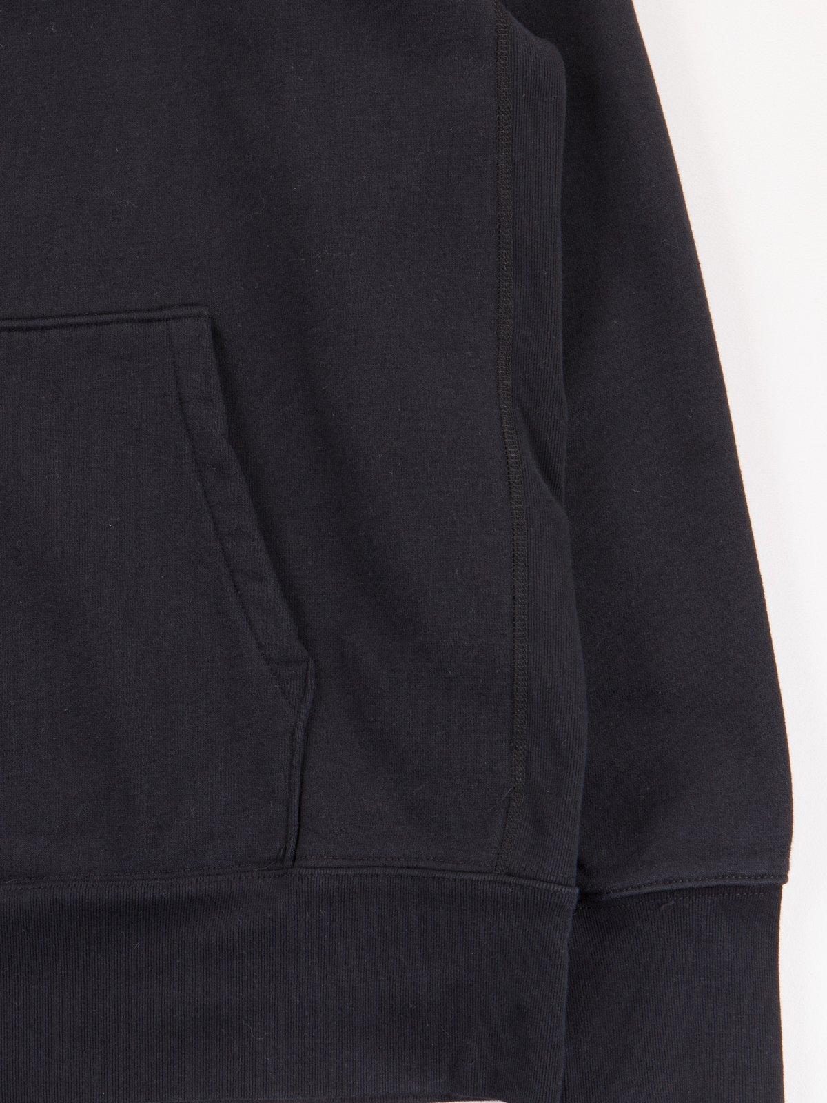 Black Gusset Pullover Parka - Image 3