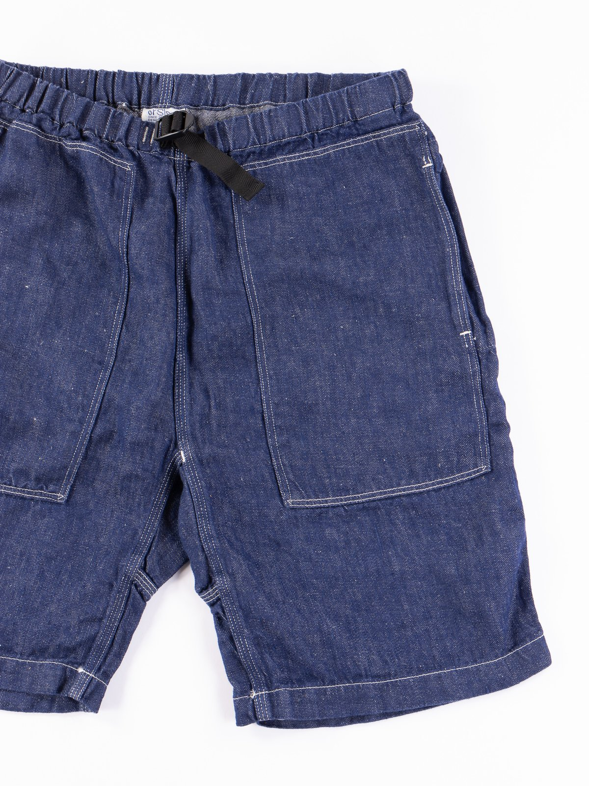 One Wash Linen Denim Climbing Short - Image 2