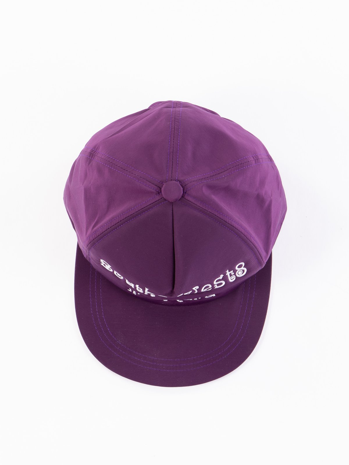 Purple Tenkara Embroidered Trucker Cap - Image 3