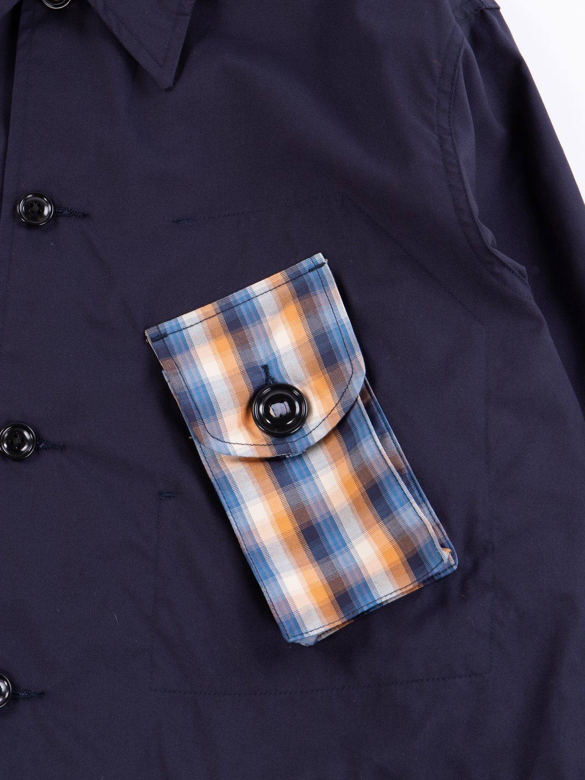 Navy Vancloth Oxford Military Half Coat Type B Exclusive - Image 4