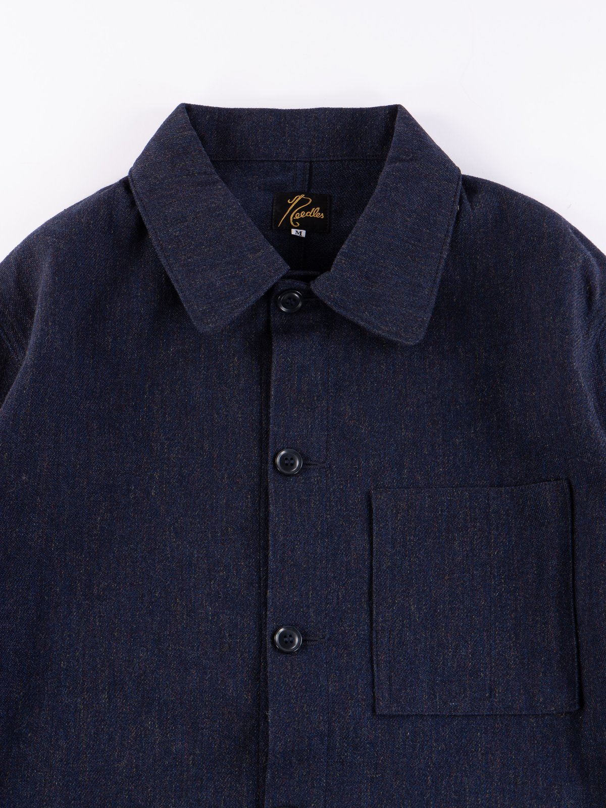 Navy Wool/Cotton Serge D.N Coverall - Image 2