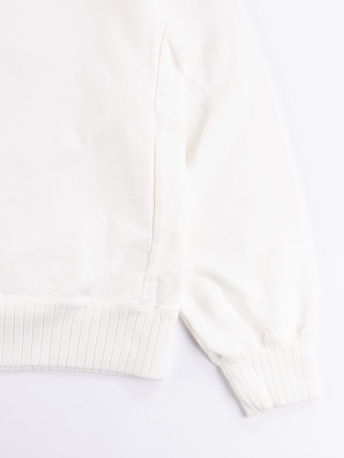Off White High Density Sweat Pullover Parka - Image 4