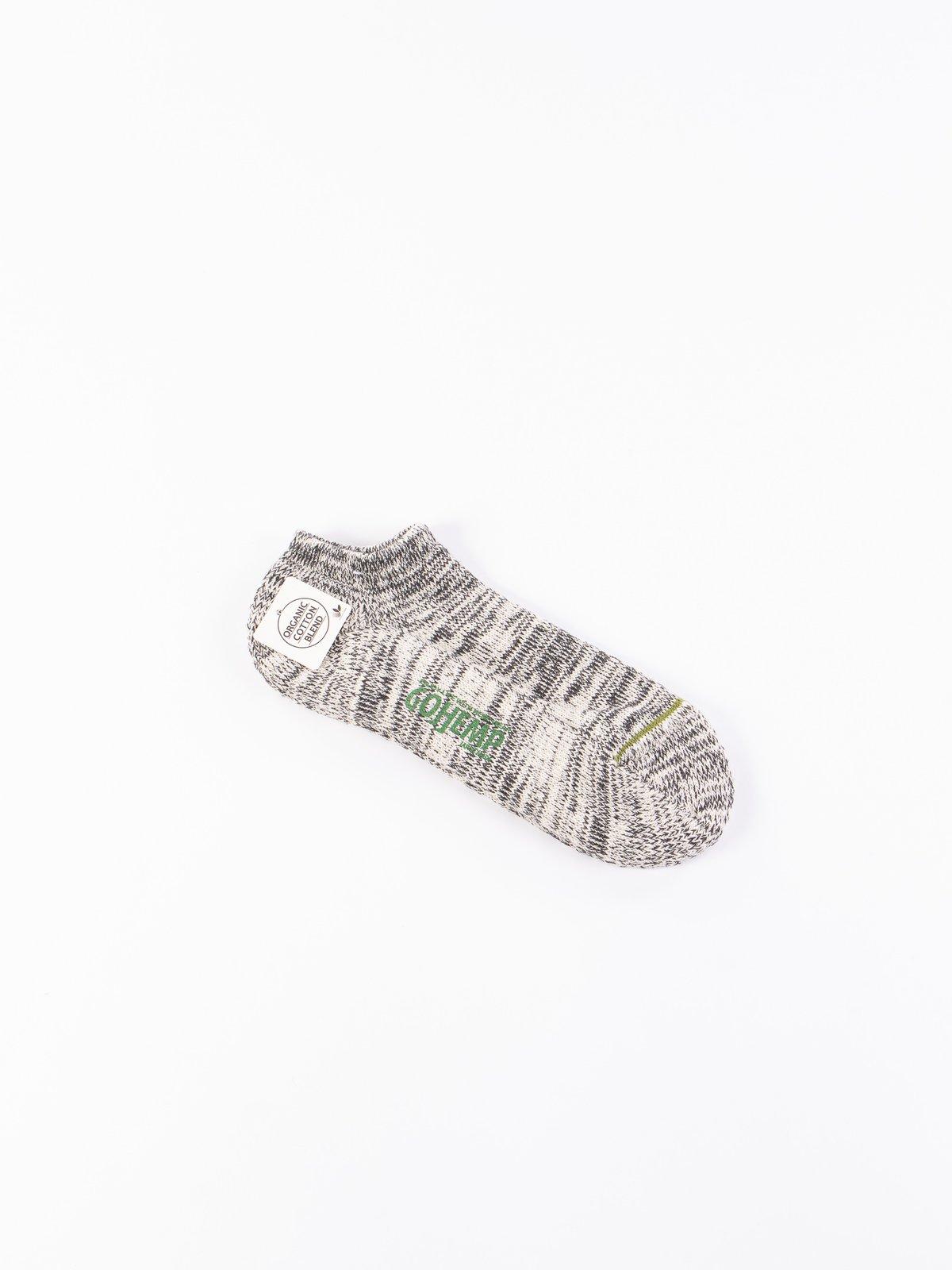 Black Go Hemp OC Pile Ankle Socks - Image 1