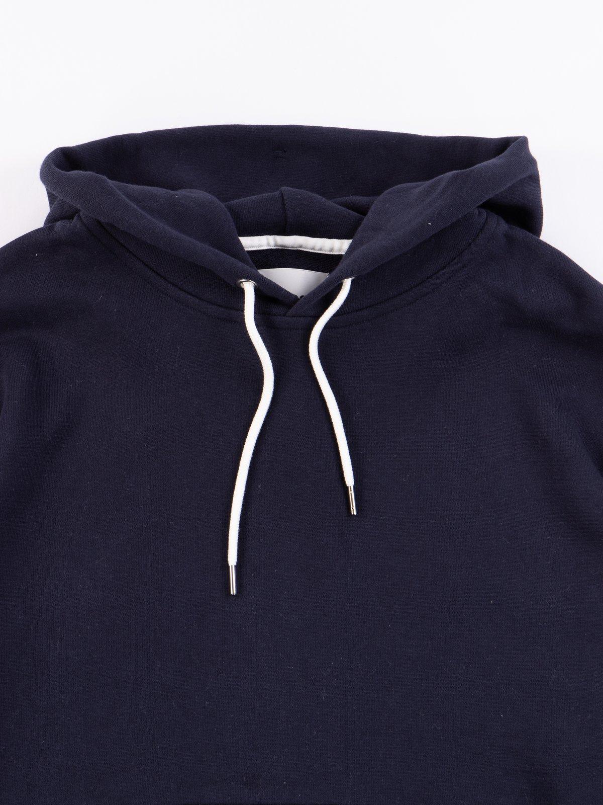 Navy Pullover Hoodie - Image 2