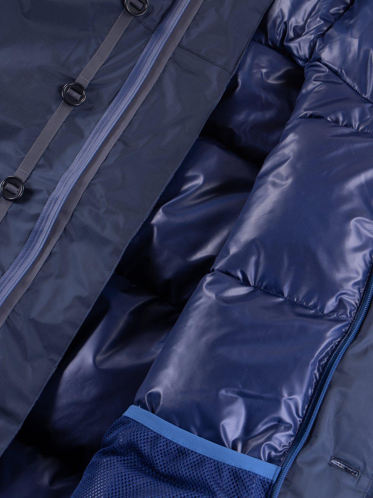 Navy/Blue Arktikal Down Jacket - Image 6