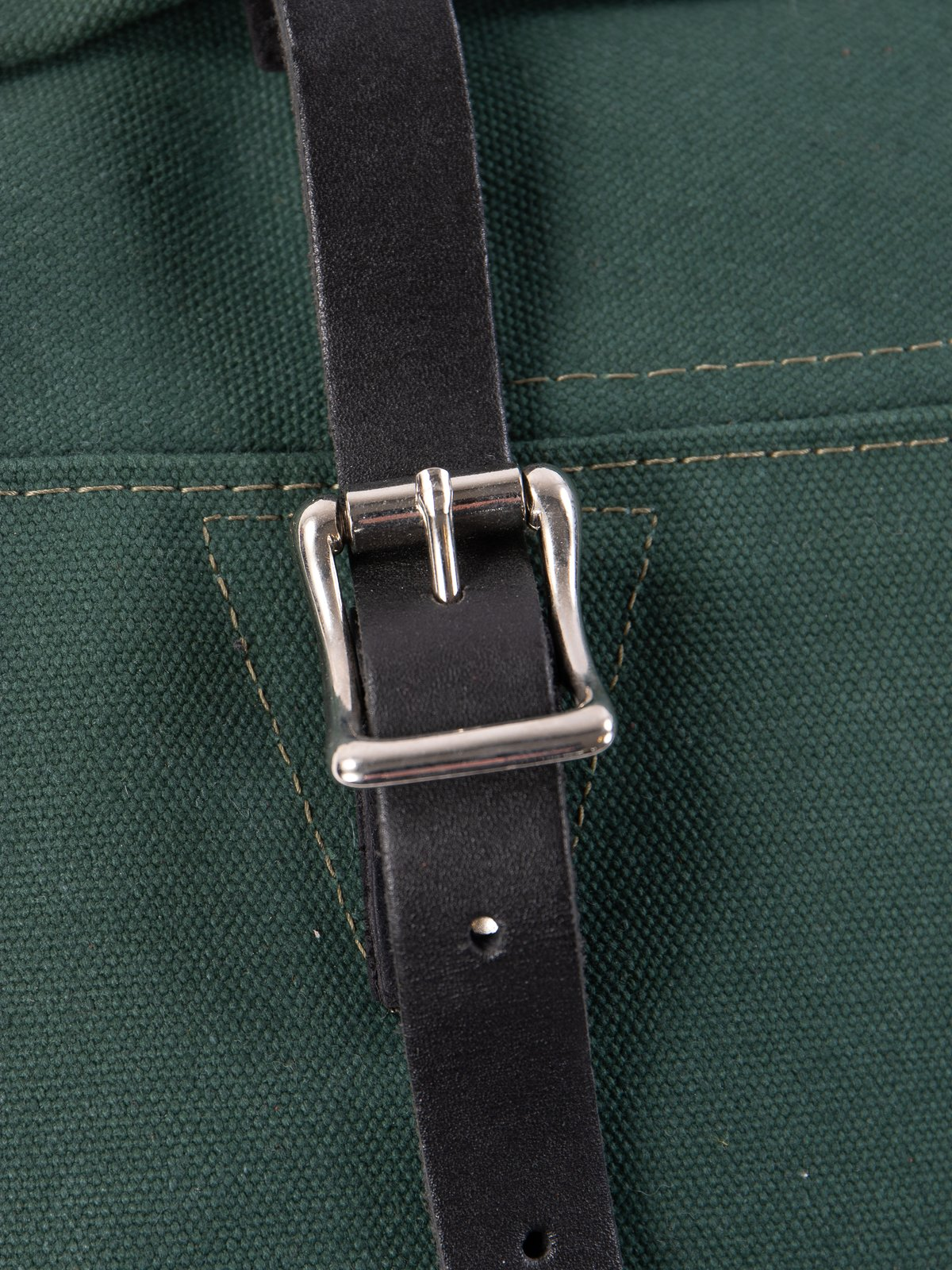 Hunter Green 18oz Canvas Trek Pack - Image 3
