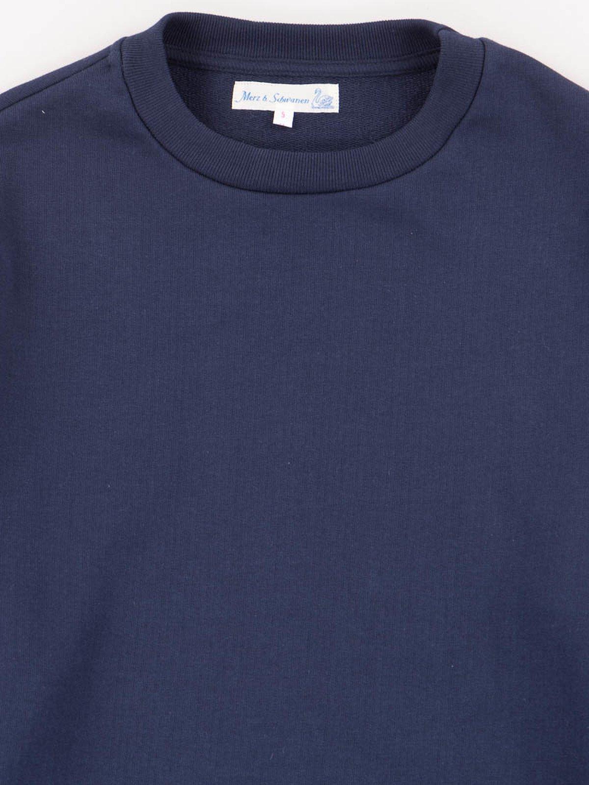 Ink Blue 346OS Organic Cotton Oversized Sweater - Image 2