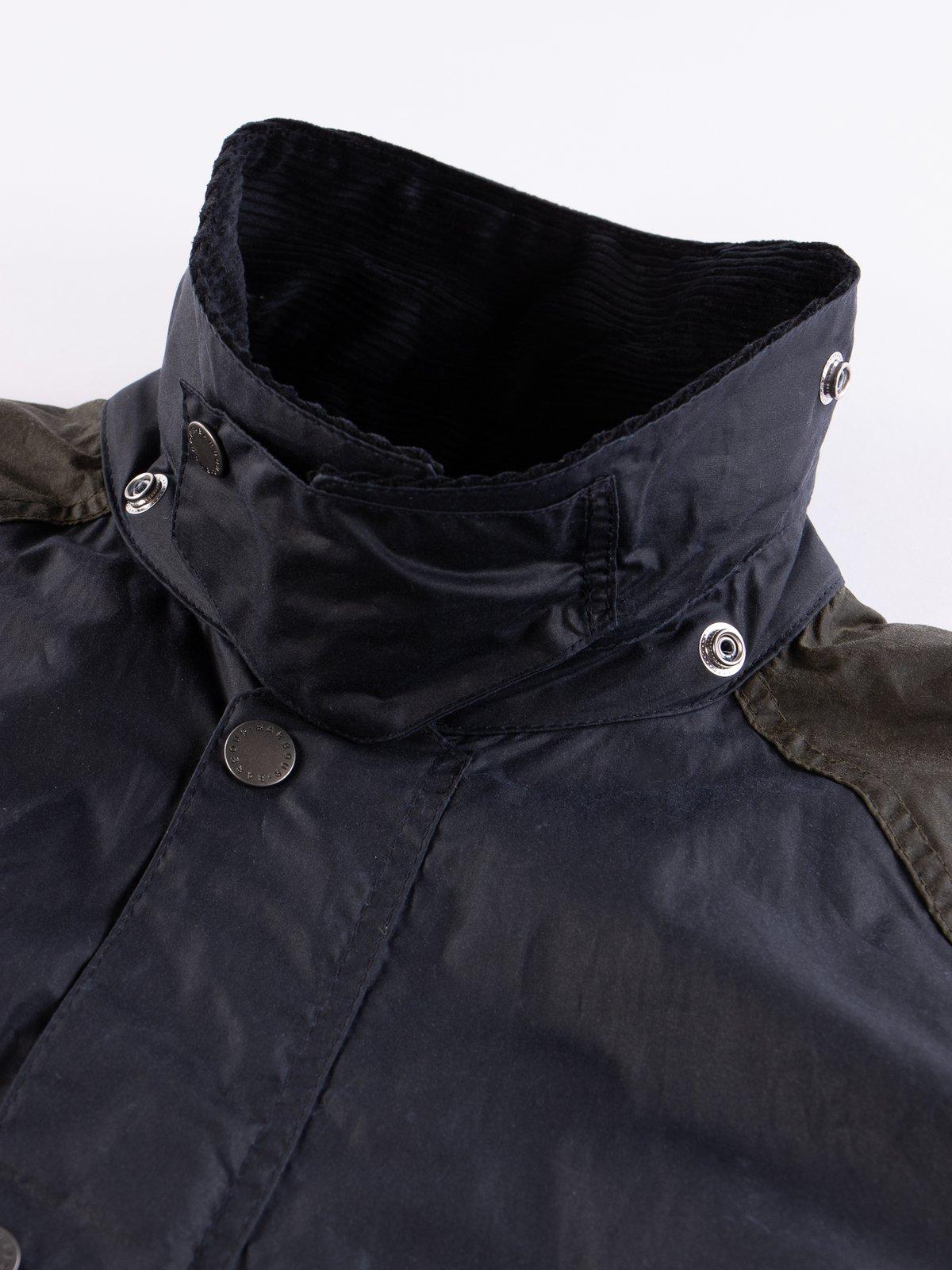 Multi Pitt Wax Jacket - Image 6