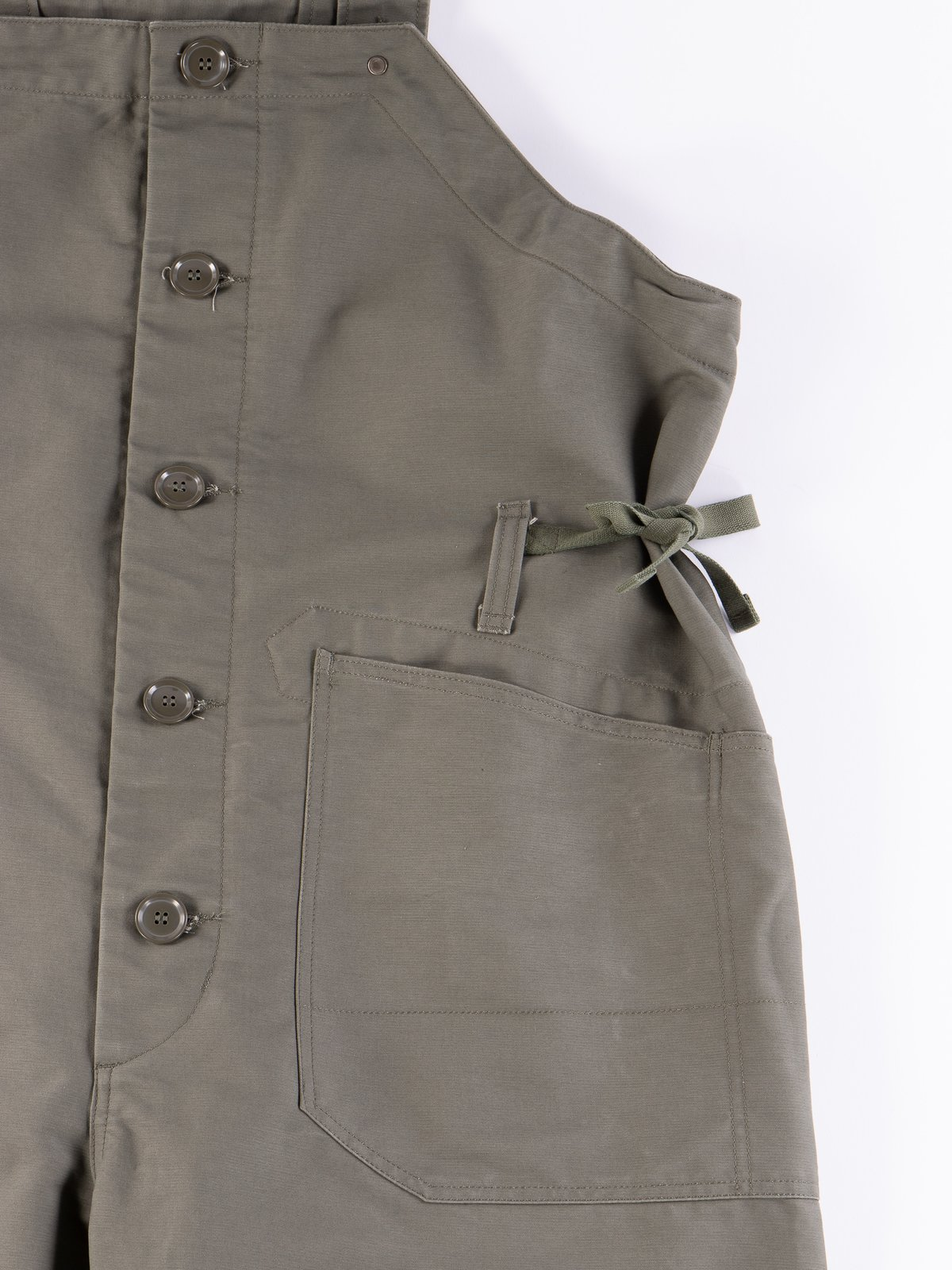 Olive Cotton Double Cloth Waders - Image 5