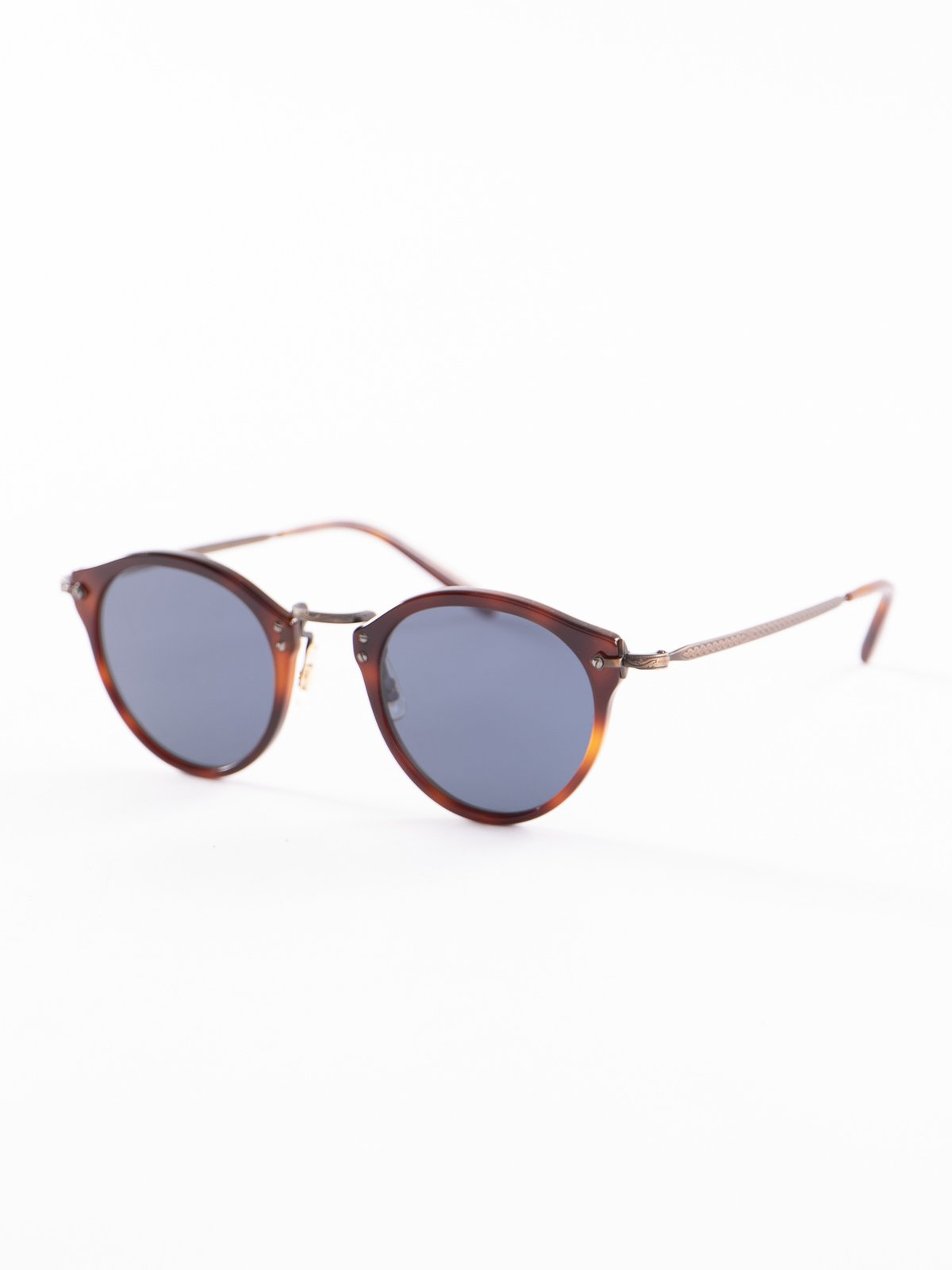 Dark Mahogany–Bronze–Blue OP–505 Sunglasses - Image 2