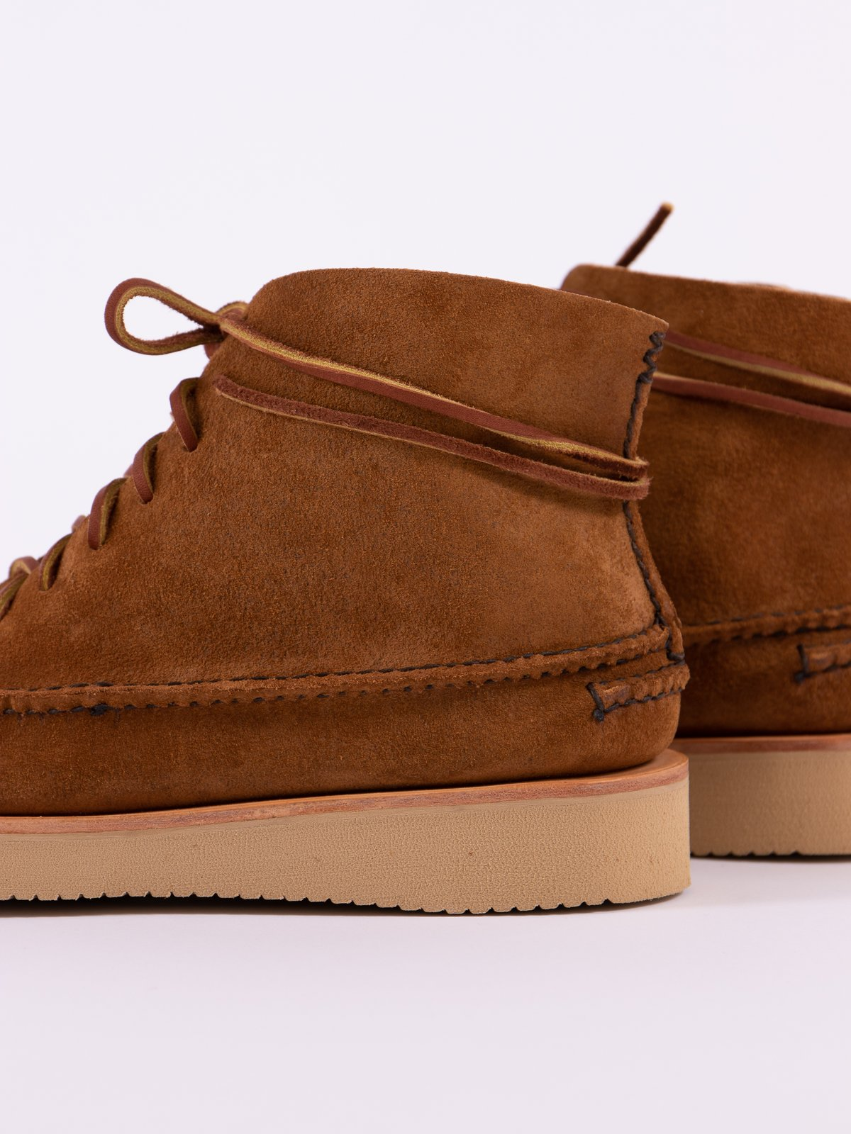 Golden Brown All Handsewn Sneaker Moc High Boot - Image 5