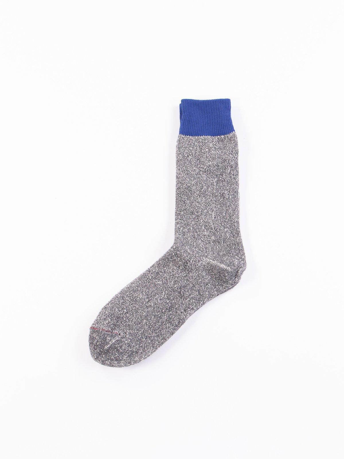Blue/Grey Double Face Socks - Image 1