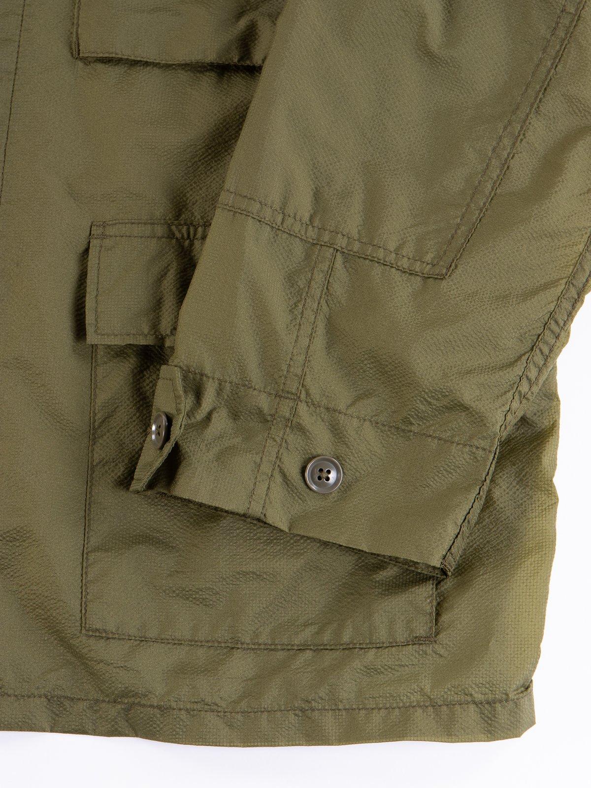 Olive Nylon Micro Ripstop BDU Jacket - Image 4