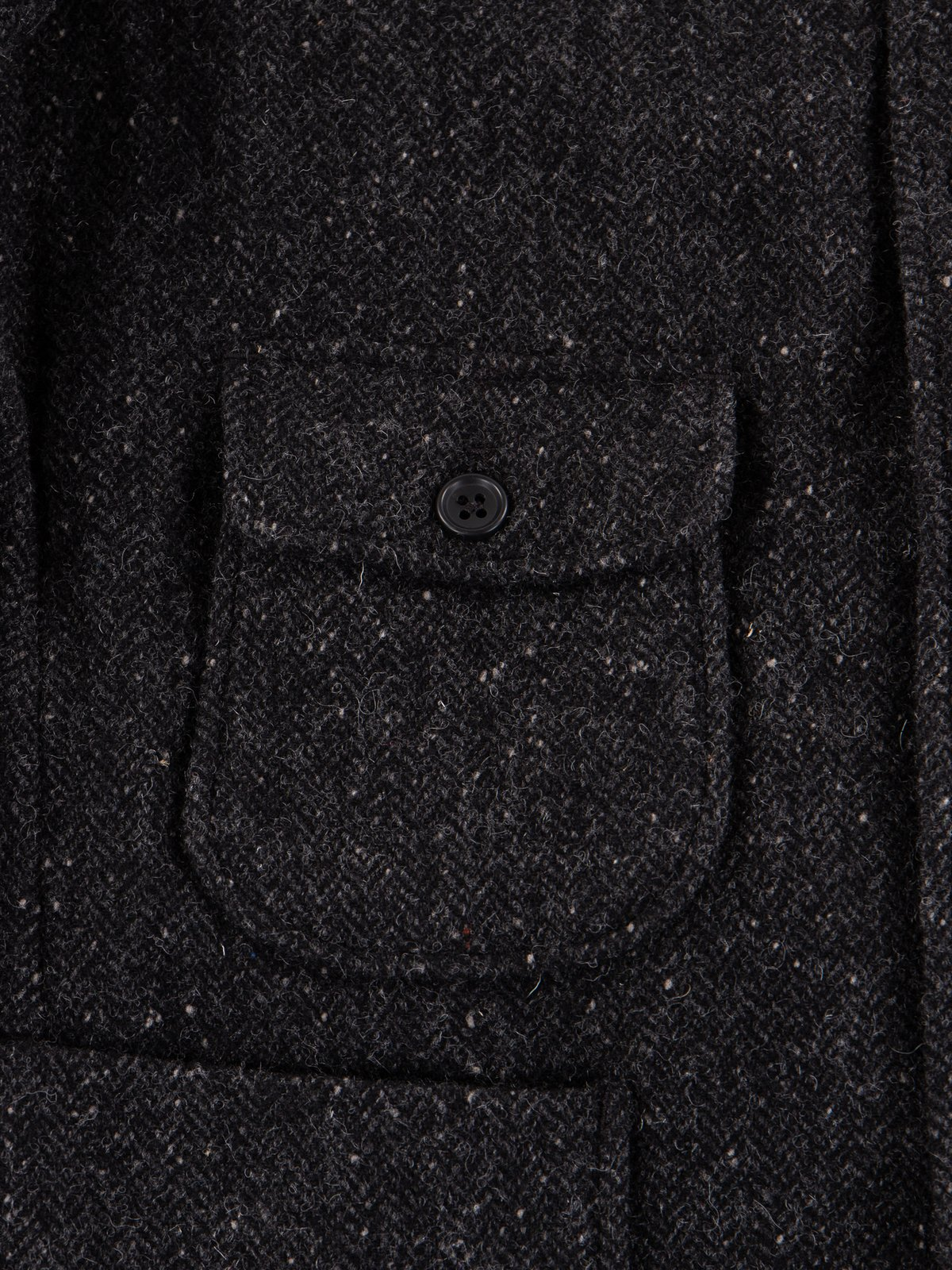 Charcoal HB Tweed Grim Jacket - Image 6
