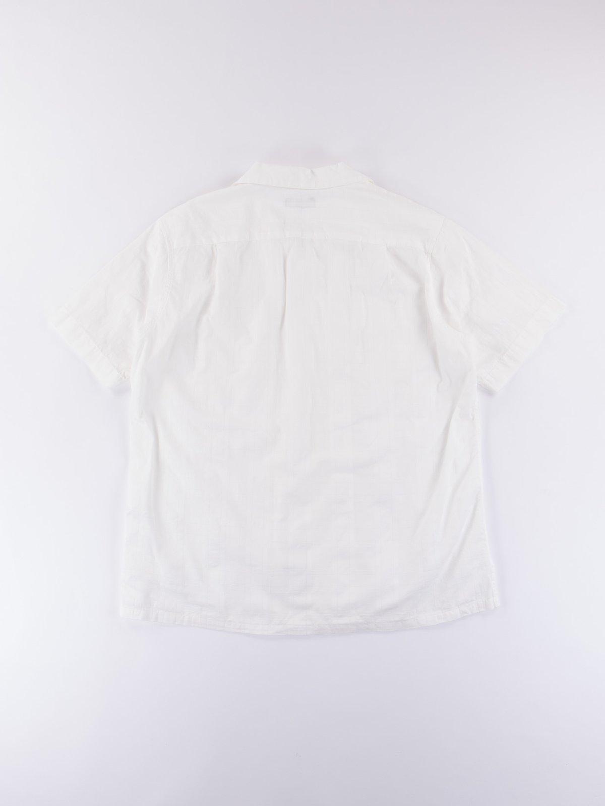 White Open SS Shirt - Image 4