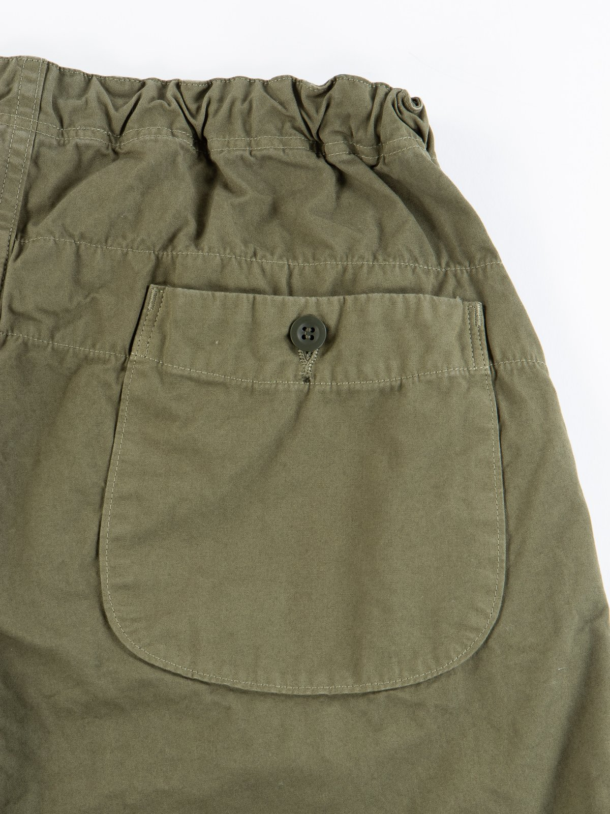 Army Overdyed Poplin TBB Mill Short - Image 4