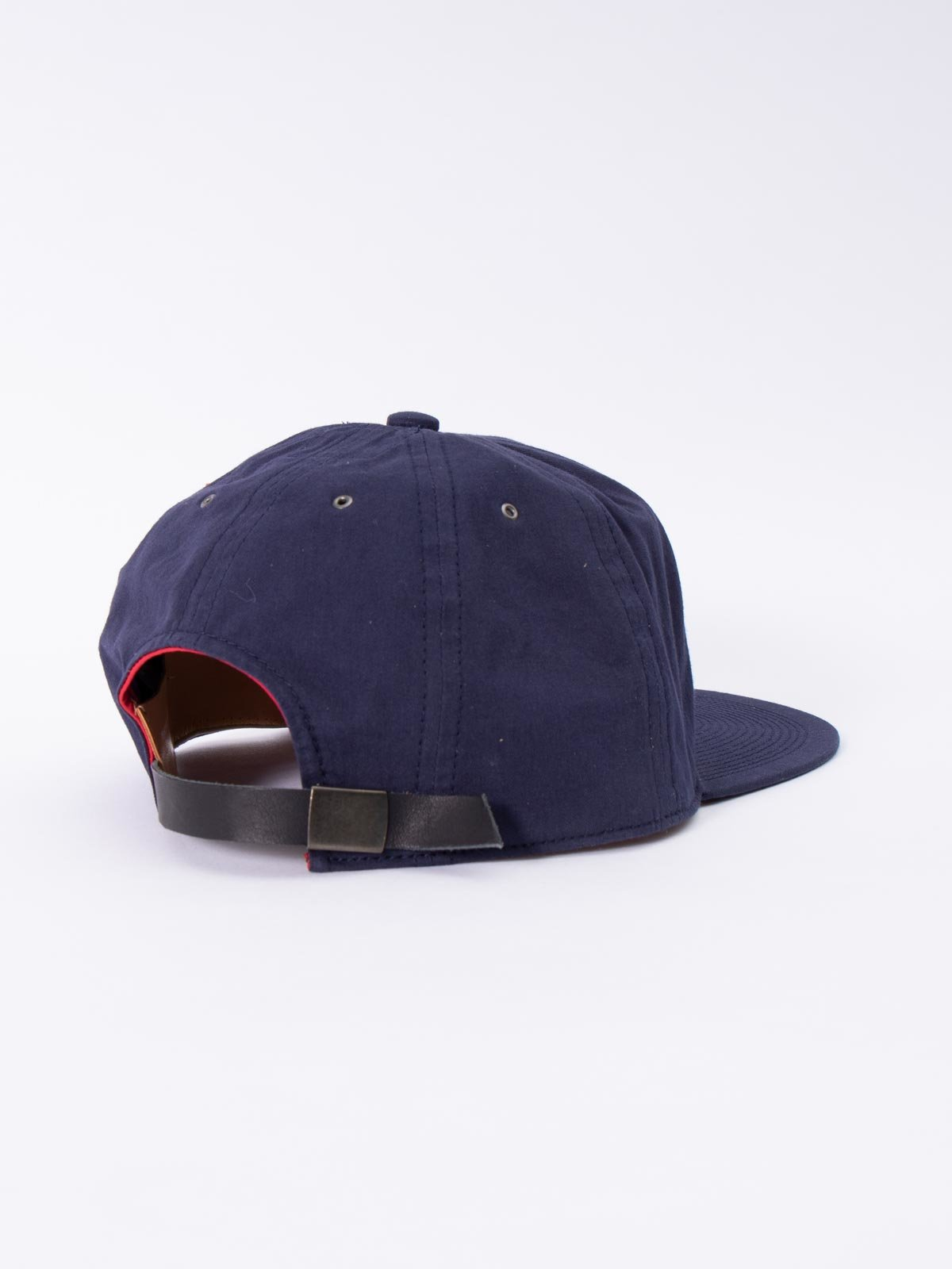 NAVY WASHED COTTON CAP - Image 2