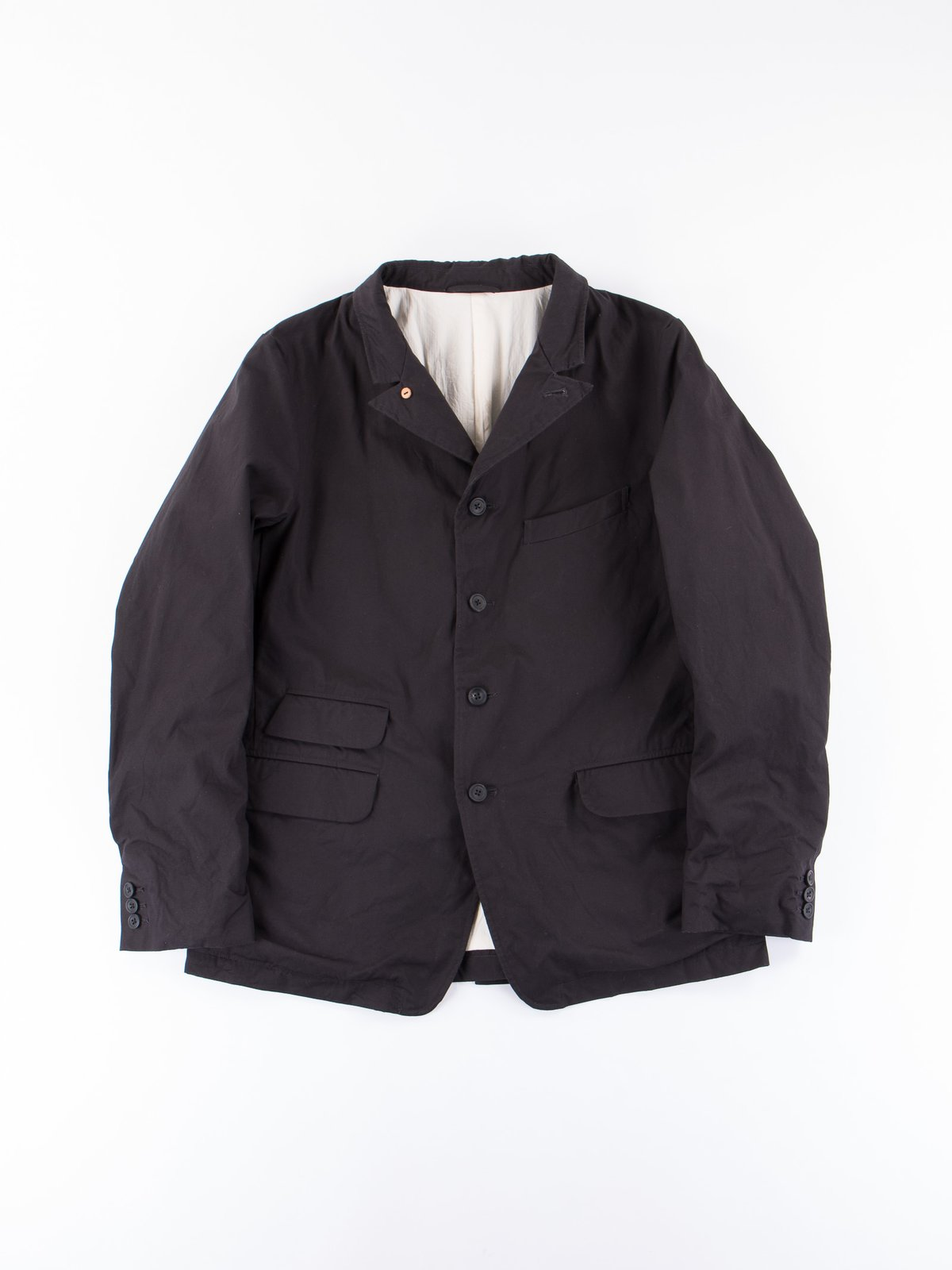 Deep Navy Old Potter Jacket - Image 1