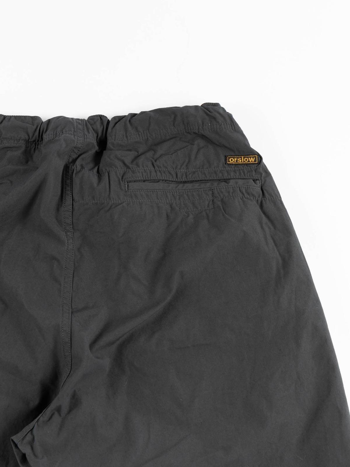 NEW YORKER SHORTS GRAY COTTON TYPEWRITER CLOTH - Image 3