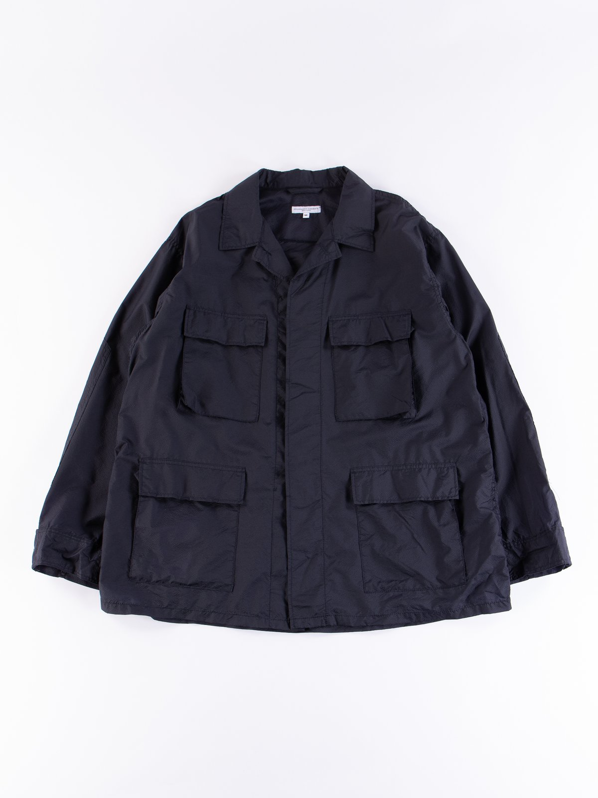 Dark Navy Nylon Micro Ripstop BDU Jacket - Image 1