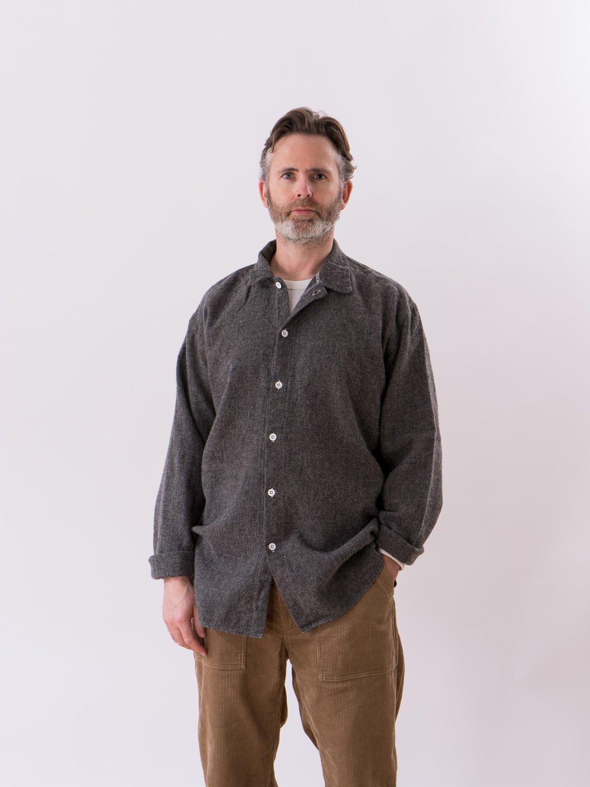 Charcoal Weavers Stock Tail Shirt - Image 2