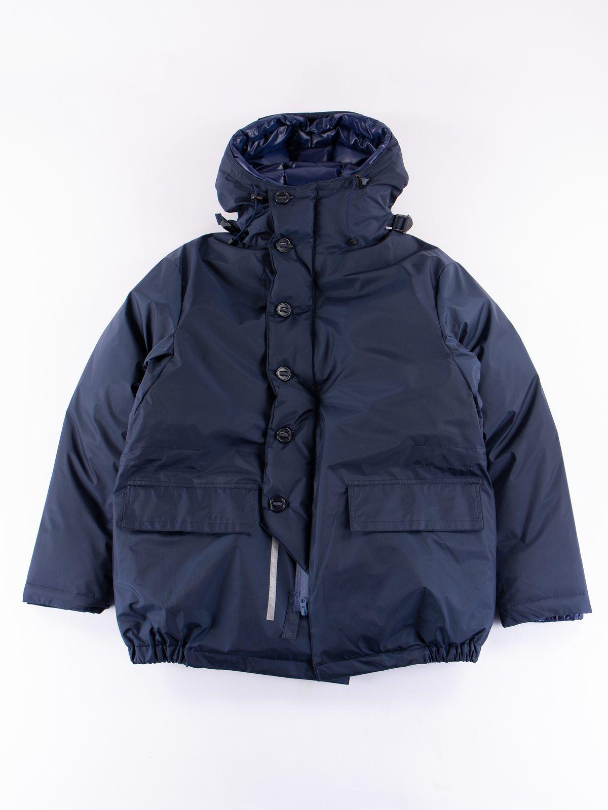 Navy/Blue Arktikal Down Jacket - Image 1