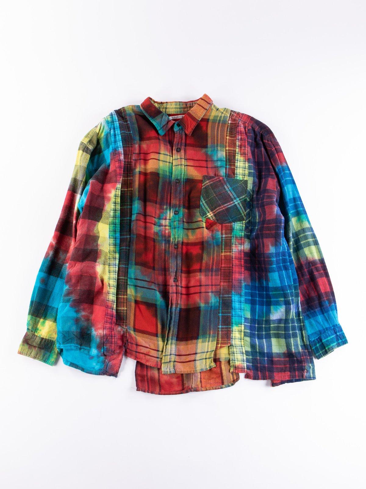 Tie Dye Assorted 7 Cuts Rebuild Shirt - Image 7